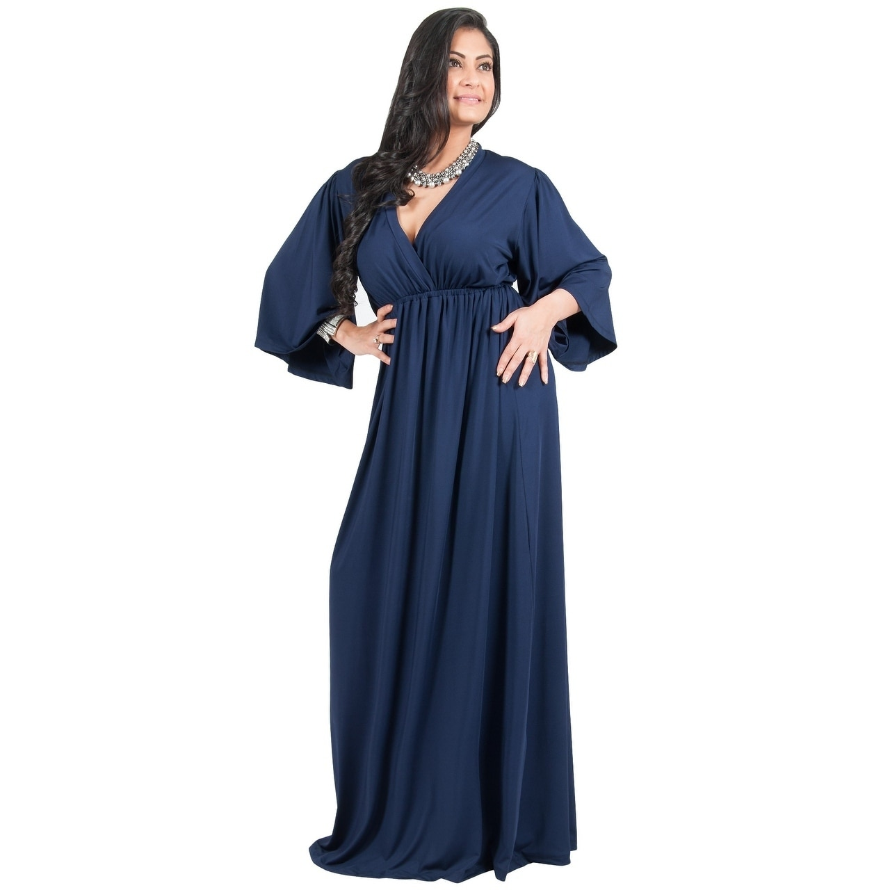 02b7d2a308 Long Sleeve Flowy Dresses Plus Size