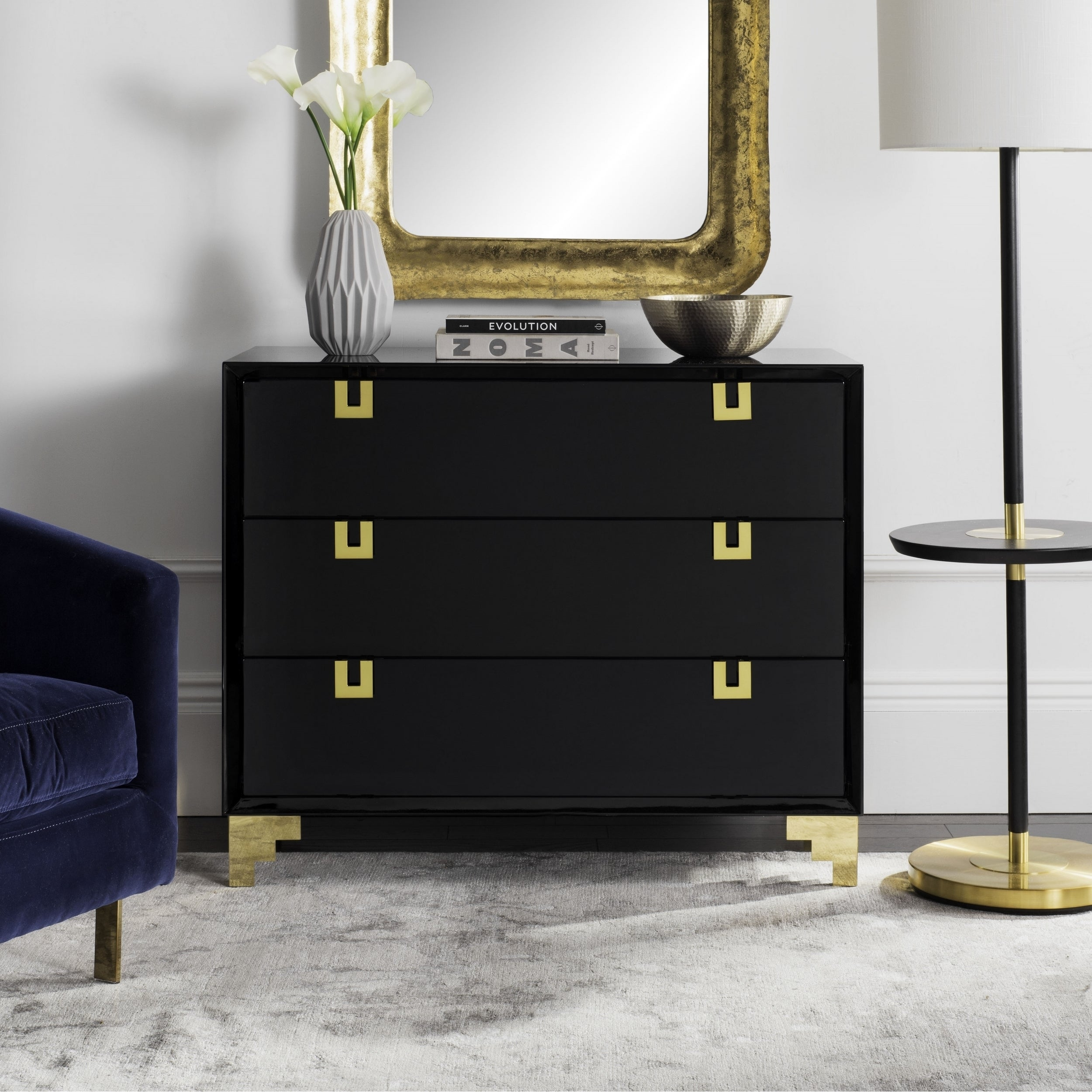 drawers luxury lacquer lillian homes with unique dresser of home and soft design black white walmart close ideas gardens better drawer