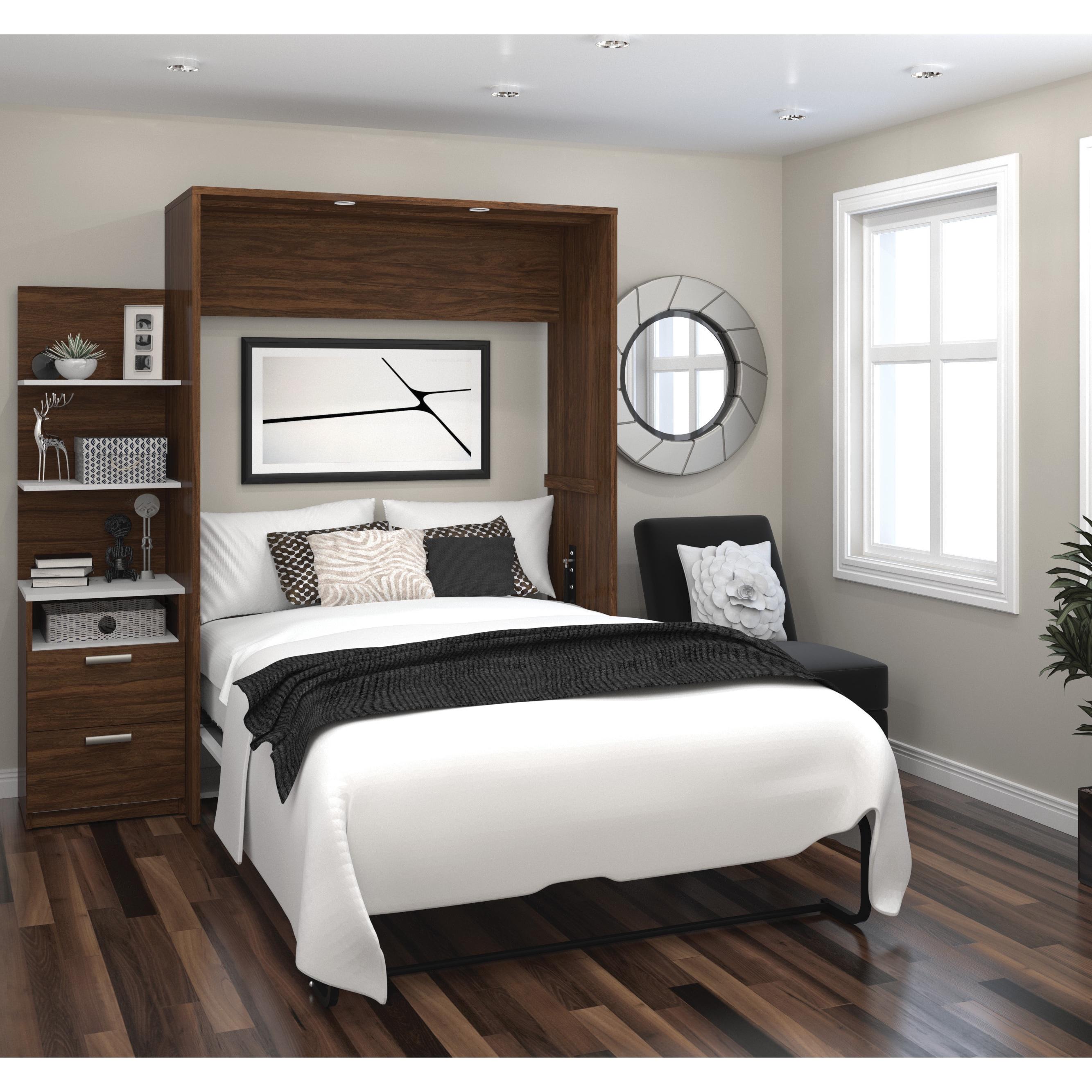 Wall bed kit White Queen Cielo By Bestar Elite 79inch Full Wall Bed Kit Sleepdocsinfo Shop Cielo By Bestar Elite 79inch Full Wall Bed Kit Free Shipping