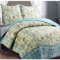 Panama Jack Sea Horses 3 piece Quilt Set