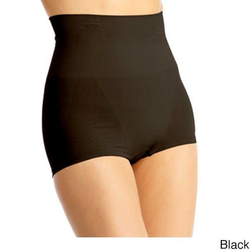c3d4716d9c2 Shop Memoi Womens High-waisted Boy Shorts Shaper - Free Shipping On Orders  Over  45 - Overstock - 14092701