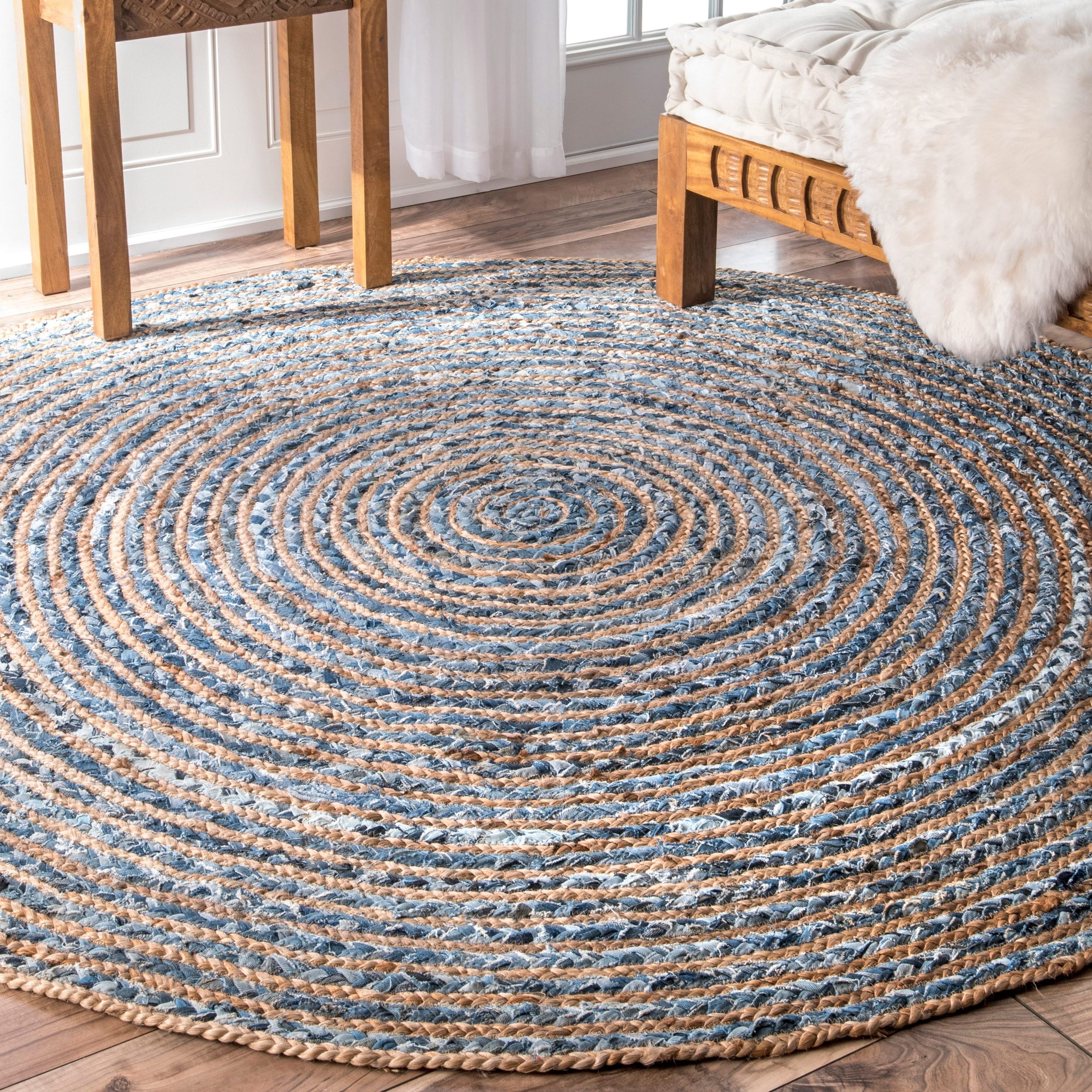 rug diy round braided rugs project