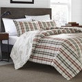 Eddie Bauer Point Permit Plaid Cotton 3-Piece Comforter Set