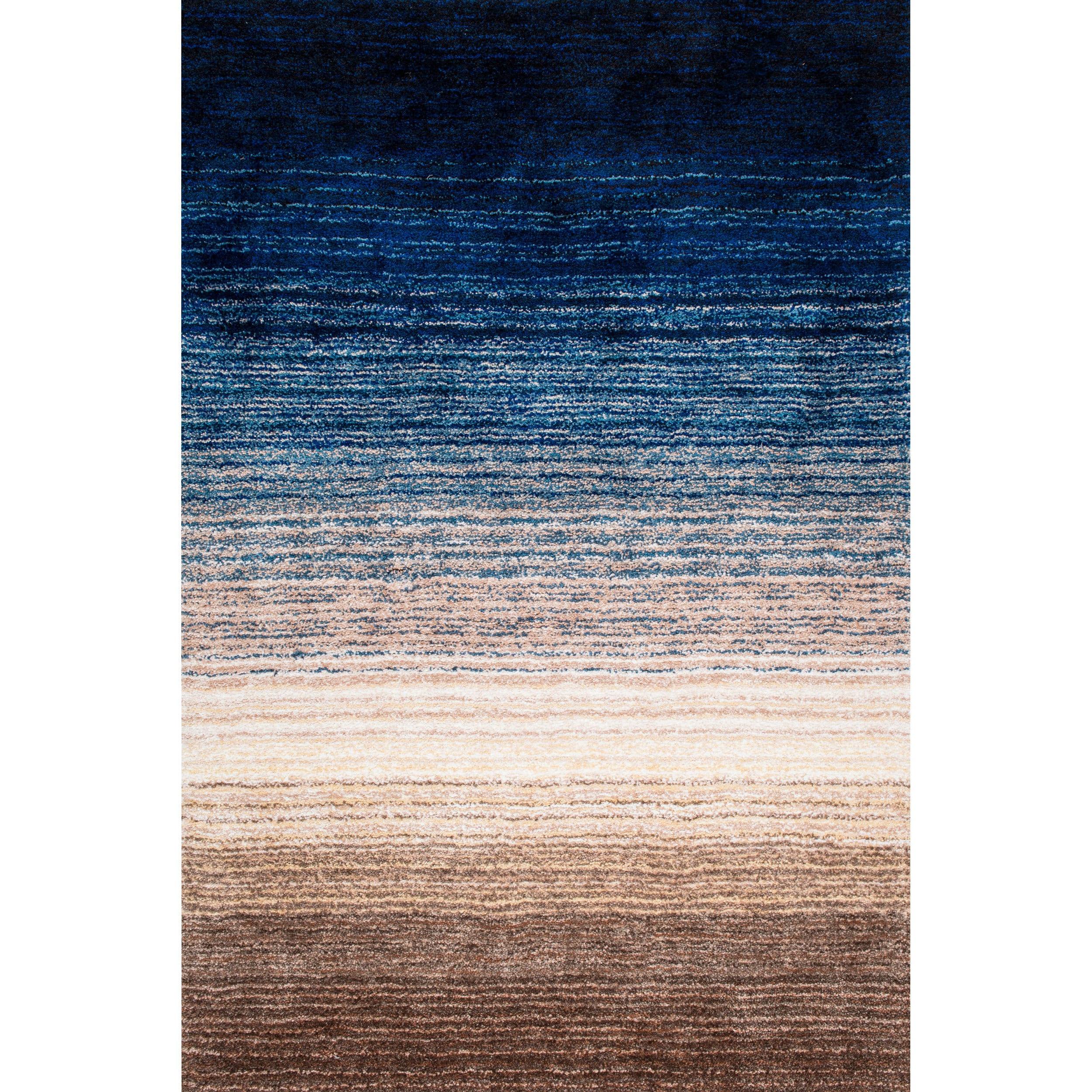 ombre rug leslie flatweave contemporary down letter doris carpet blue by wool blau arrow metal abstract modern