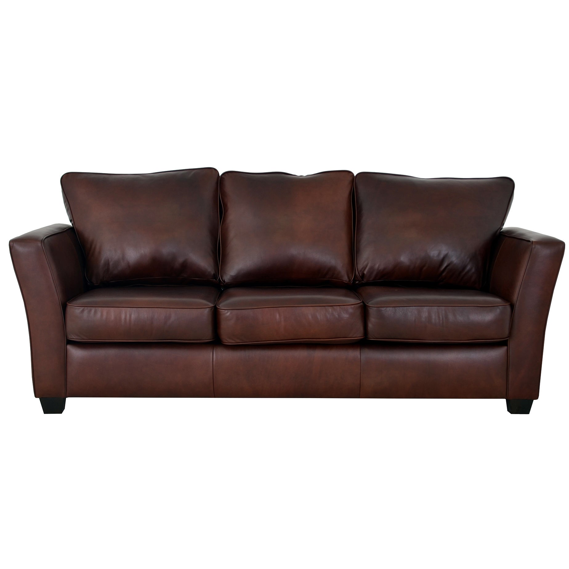 Shop Made To Order Bridgeport Genuine Top Grain Leather Sofa On