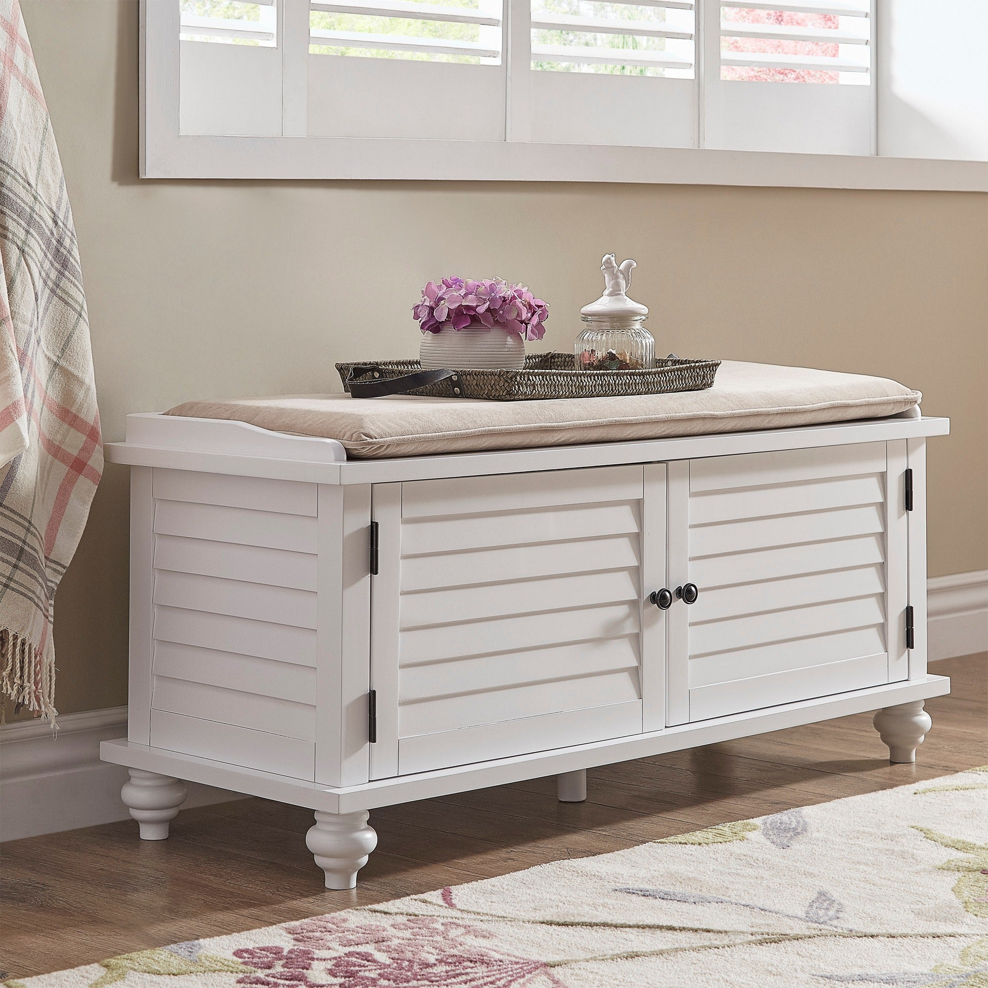 bench storage white kids projects ana chest diy