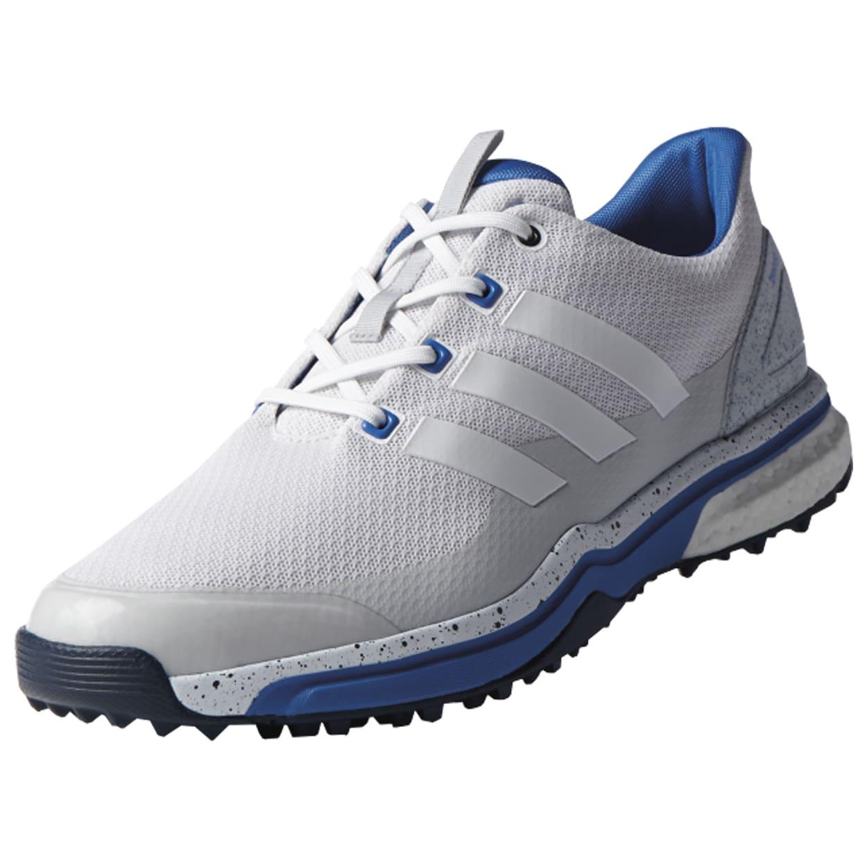 Negozio / Adidas Uomini Adipower Sport Boost 2 Bianco / Negozio Grigio / Blu Golf c2b135