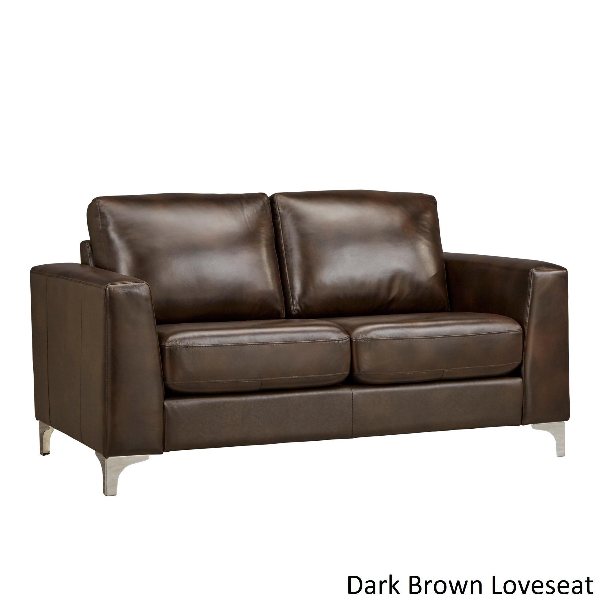 Shop Bastian Aniline Leather Sofa by iNSPIRE Q Modern - On Sale ...