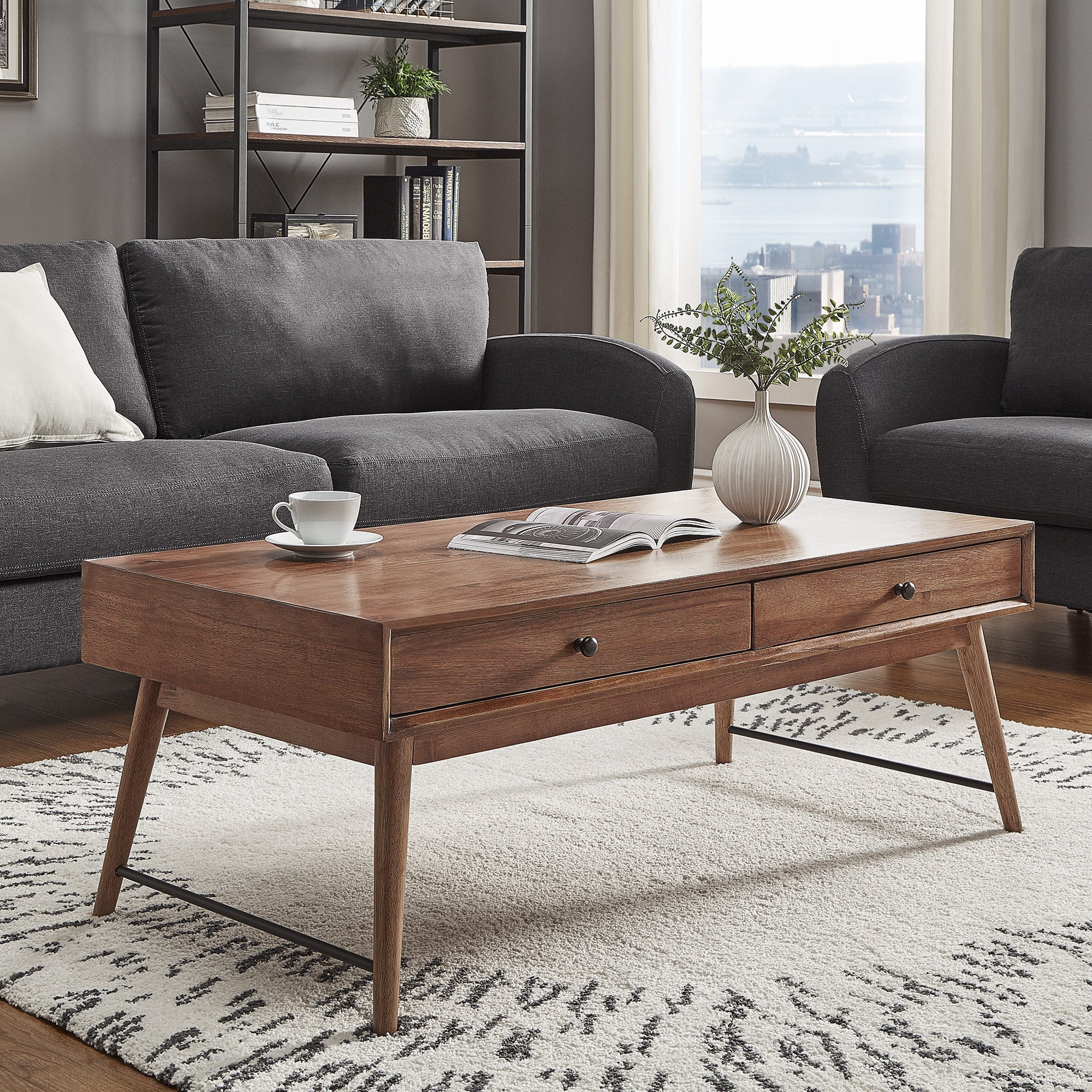 Aksel Brown Wood Accent Tables iNSPIRE Q Modern - Free Shipping Today -  Overstock.com - 20742348