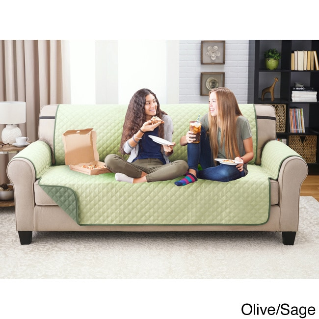 Reversable Eco Friendly Quilted Sofa Cover Free Shipping Today