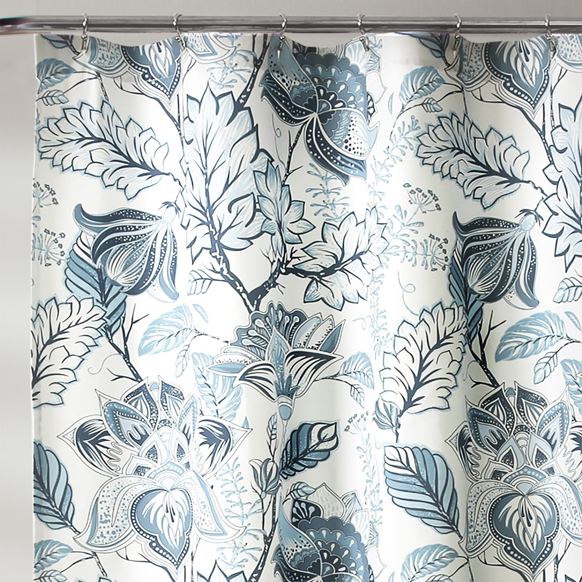 Shop Lush Decor Cynthia Jacobean Shower Curtain