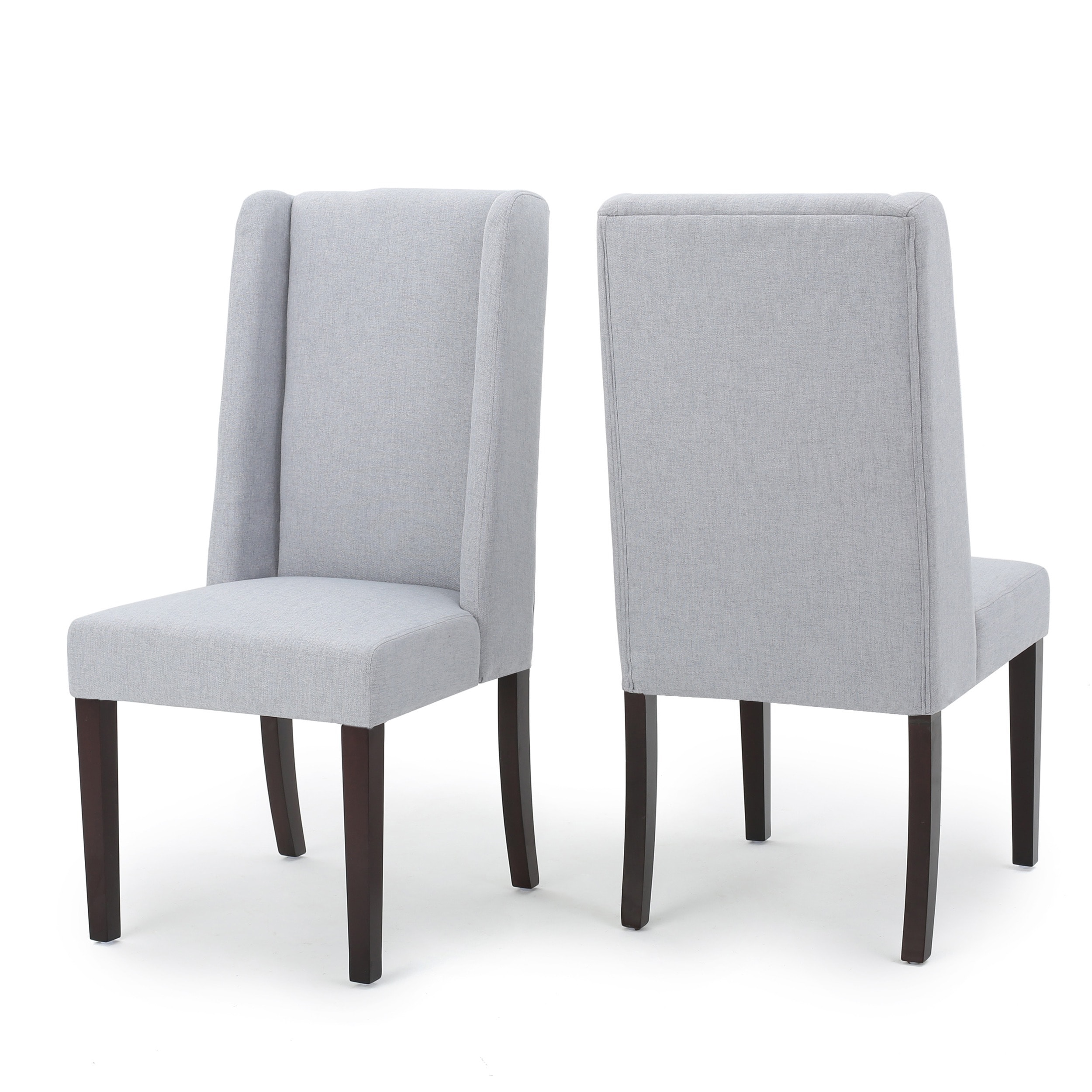 Rory Wing Back Fabric Dining Chair (Set Of 2) By Christopher Knight Home    Free Shipping Today   Overstock.com   20744501
