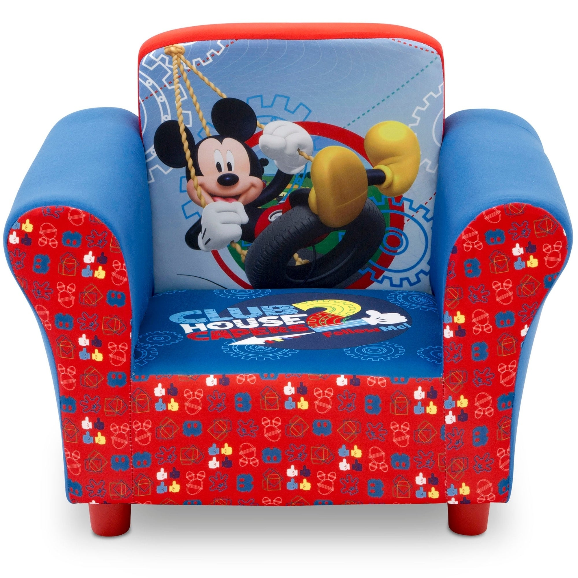 Disney Mickey Mouse Upholstered Chair Free Shipping Today 14154860