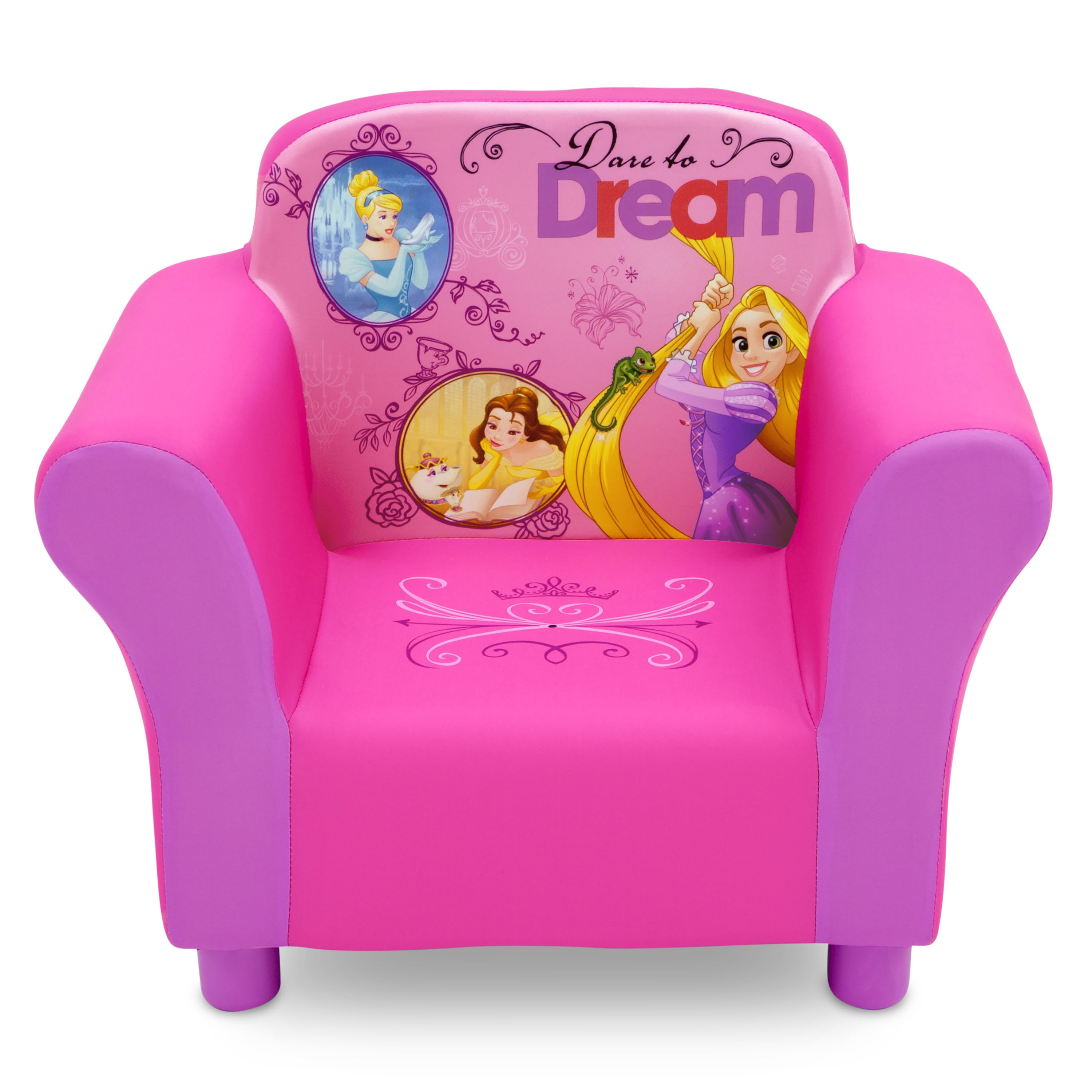 Charmant Disney Princess Upholstered Chair   Free Shipping Today   Overstock    20756633