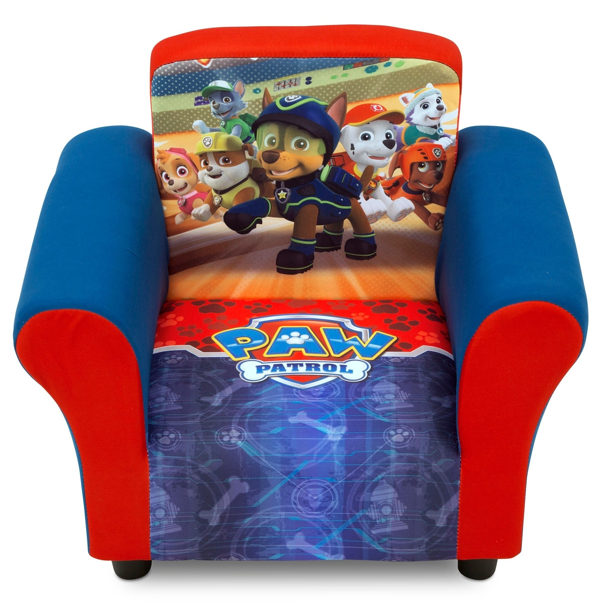 Shop Nick Jr Paw Patrol Upholstered Chair Free Shipping Today