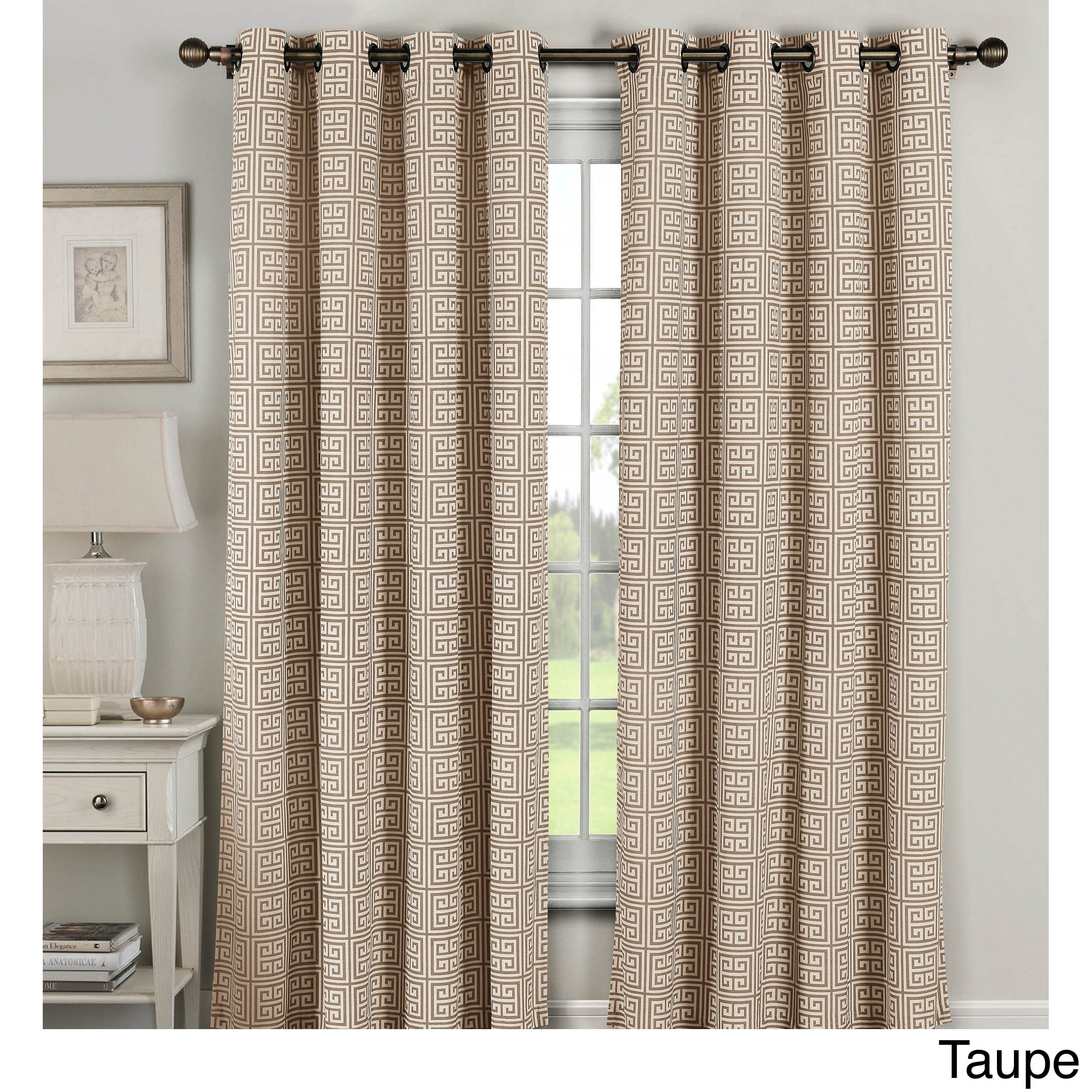 curtains grommet of valance patterned treatments astonishing sheer window touch class