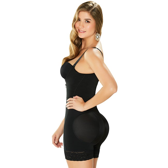 2b40eb87a783 Shop Powernet Elastane and Polyamide Mid-thigh Shapewear - Free Shipping  Today - Overstock - 14156182