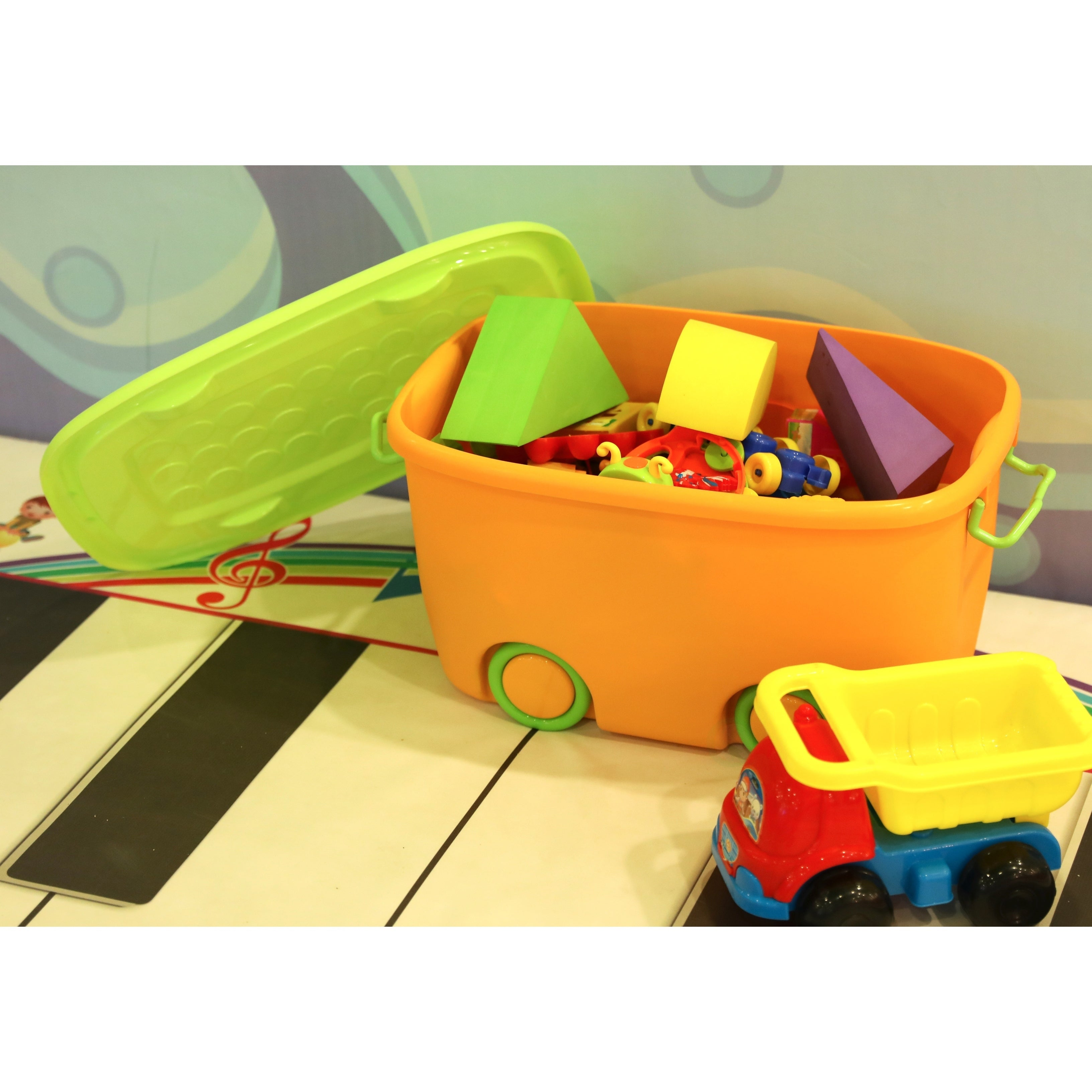 C Shop Stackable Toy Storage Box With Wheels Free Shipping On Orders Over  45 Overstockcom 14160391