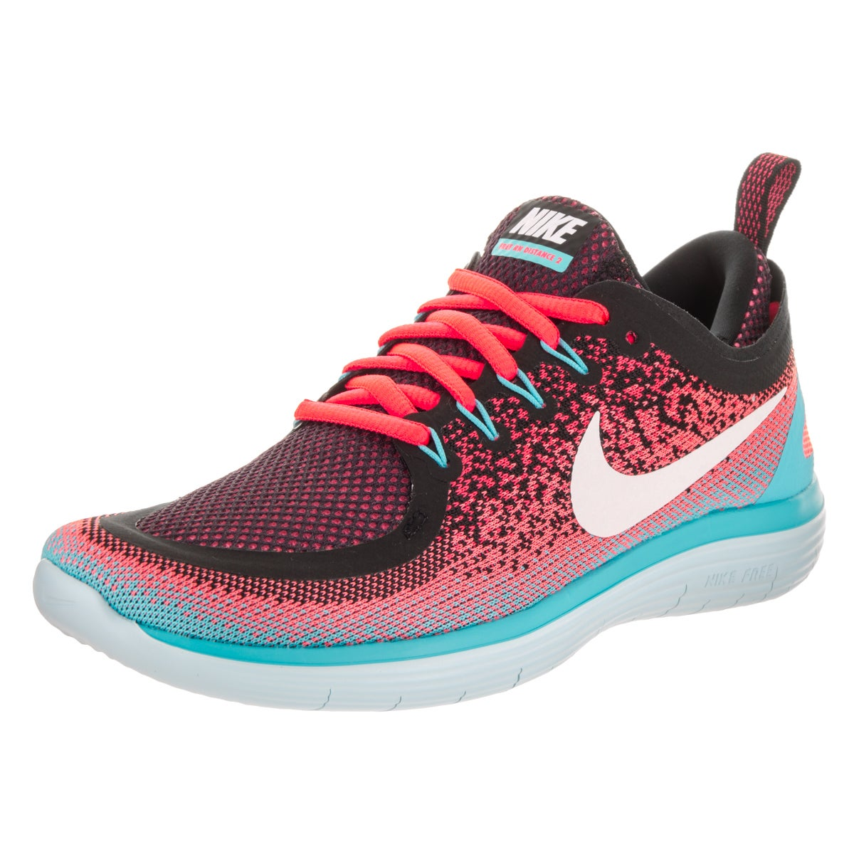 8215a612bb53a Shop Nike Women s Free RN Distance 2 Running Shoes - Free Shipping Today -  Overstock - 14163282