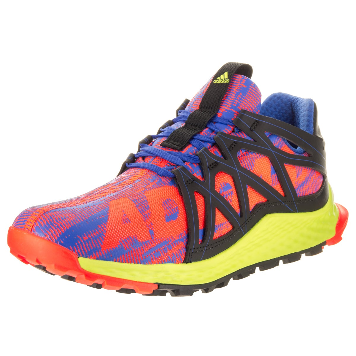 buy online 729f0 13384 Shop Adidas Men s Vigor Bounce Multicolor Synthetic Leather Running Shoes -  Free Shipping Today - Overstock.com - 14163307