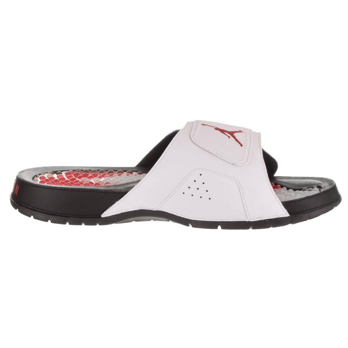 78d8340f3 Shop Nike Jordan Men s Jordan Hydro VI Retro Synthetic Leather Sandal -  Free Shipping Today - Overstock - 14163337