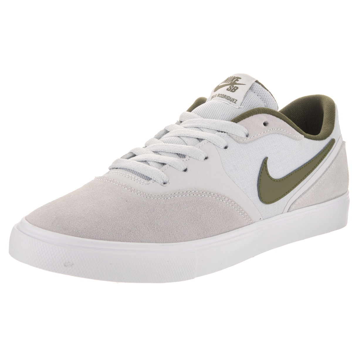 online store 87aa8 f9011 Shop Nike Men s Paul Rodriguez 9 VR Grey Suede Skate Shoe - Free Shipping  Today - Overstock - 14163359