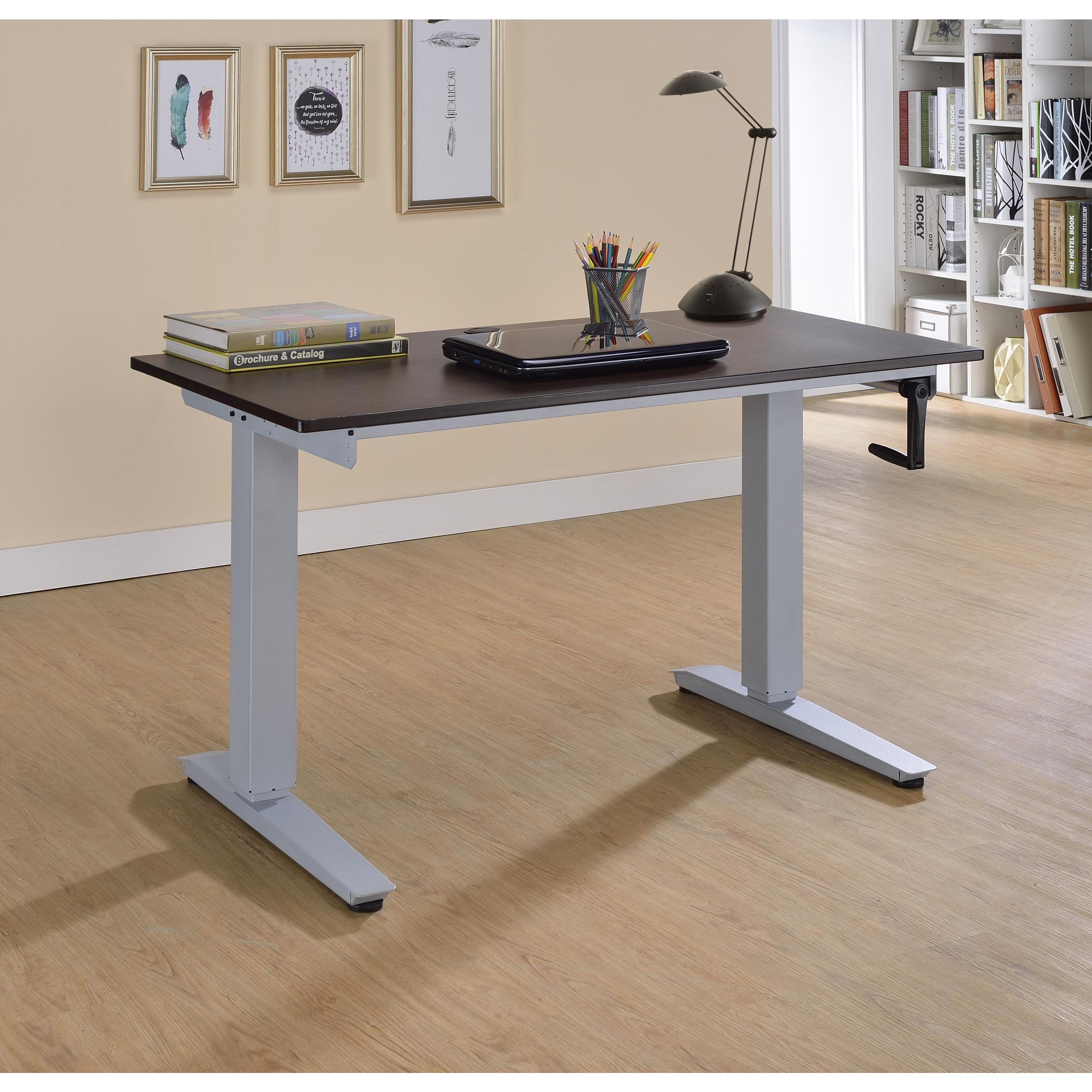 Acme Furniture Bliss Adjustable Height Wooden Desk - Free Shipping Today -  Overstock.com - 20763690