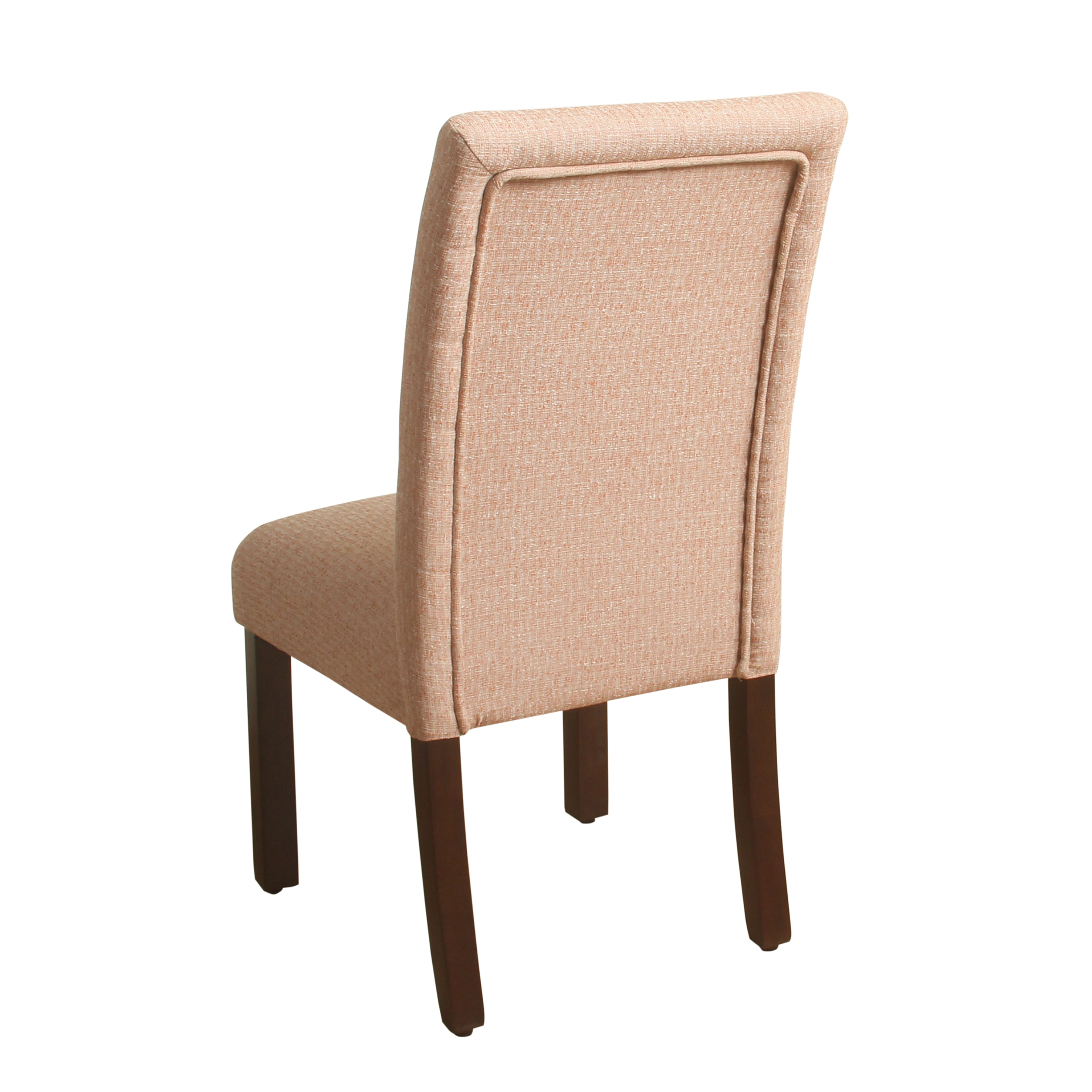 Elegant HomePop Tufted Burnt Orange Parsons Chair   Set Of 2   Free Shipping Today    Overstock.com   20763817