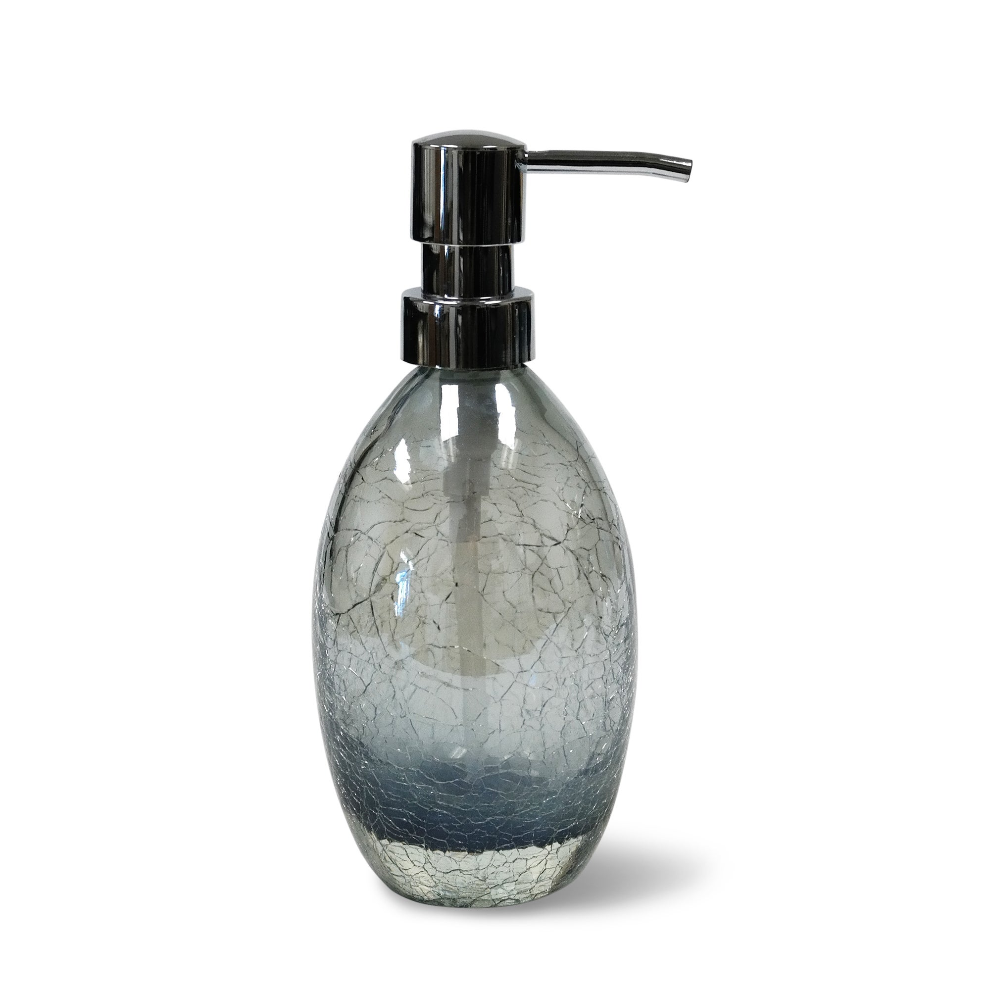 blue glass bathroom accessories. Veratex Cracked Blue Glass Bathroom Accessories Collection - Free Shipping On Orders Over $45 Overstock.com 20771854 R