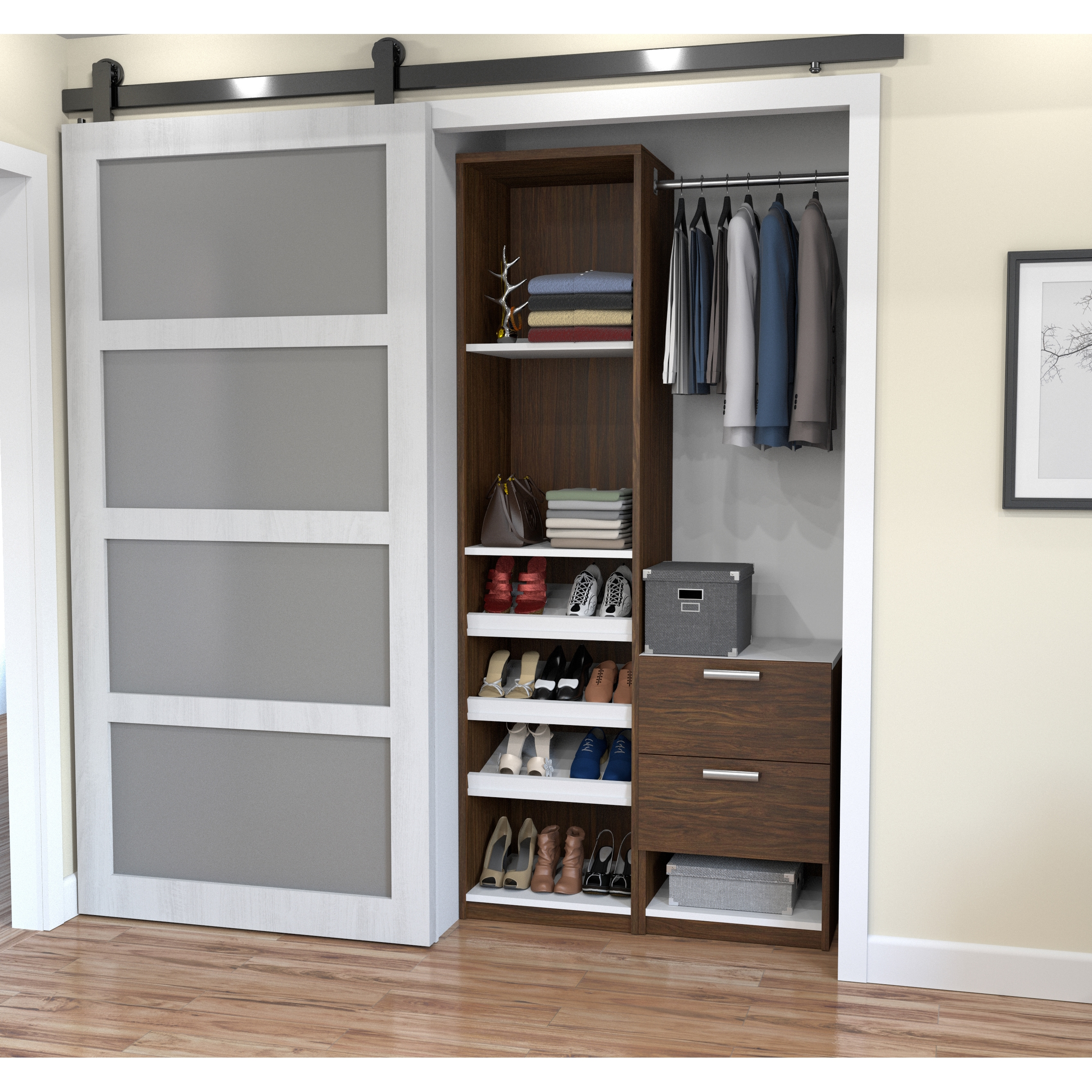 Genial Shop Cielo By Bestar Deluxe 39 Inch Reach In Closet   Free Shipping Today    Overstock.com   14173245