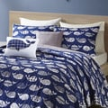 Urban Habitat Kids Nolan Navy Cotton Printed 5-piece Coverlet Set
