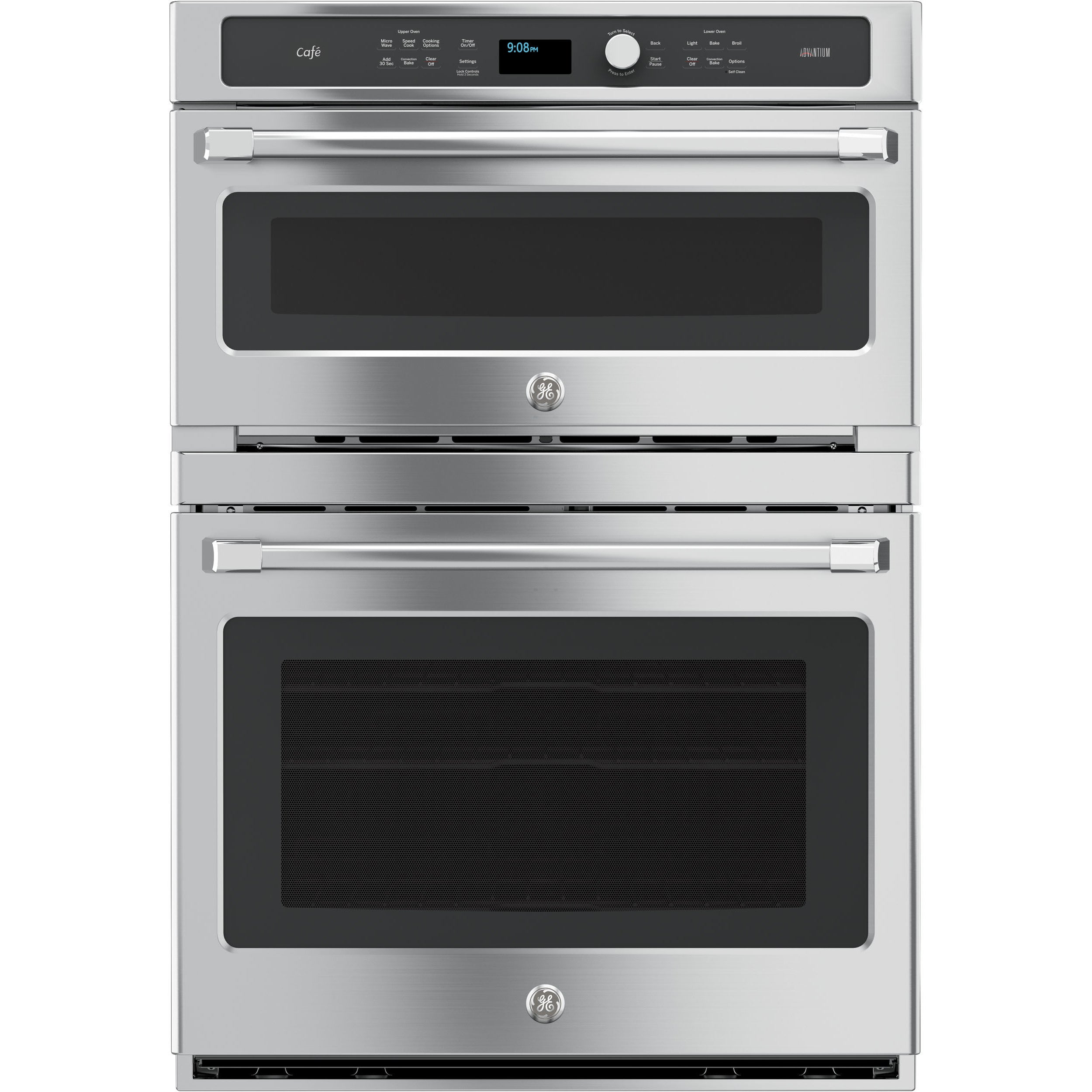 GE Cafe Series 30-inch Combination Double Wall Oven, Convection and ...