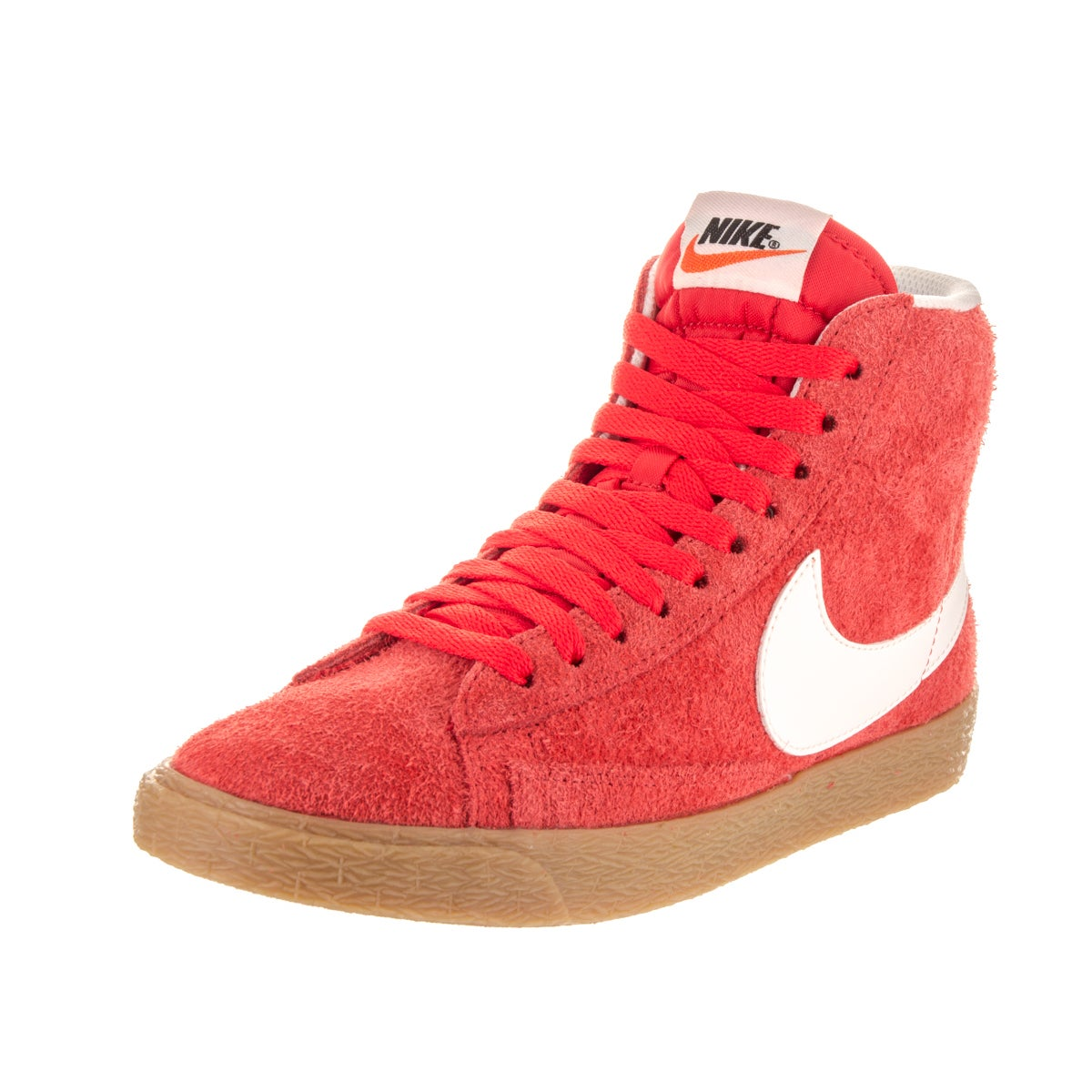 sports shoes 39b36 3134c Shop Nike Women s Blazer Orange Suede Vintage Casual Shoes - Free Shipping  Today - Overstock - 14193473