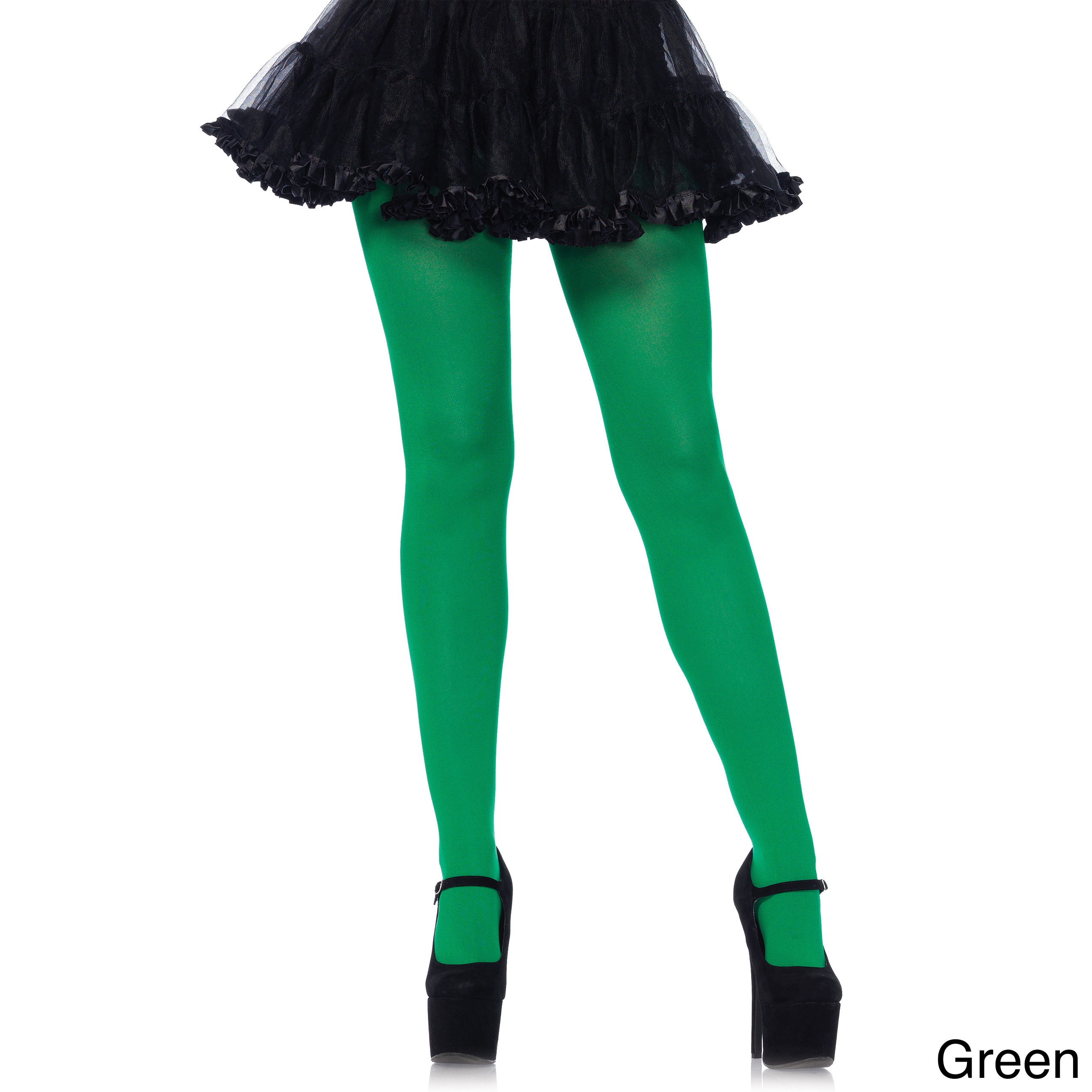 1cdea0d4b50 Shop Leg Avenue Nylon Lycra Plus-size Tights - Free Shipping On Orders Over   45 - Overstock - 14193941