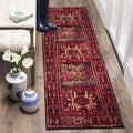 Safavieh Vintage Hamadan Traditional Red/ Multi Distressed Runner (2'2 x 6')