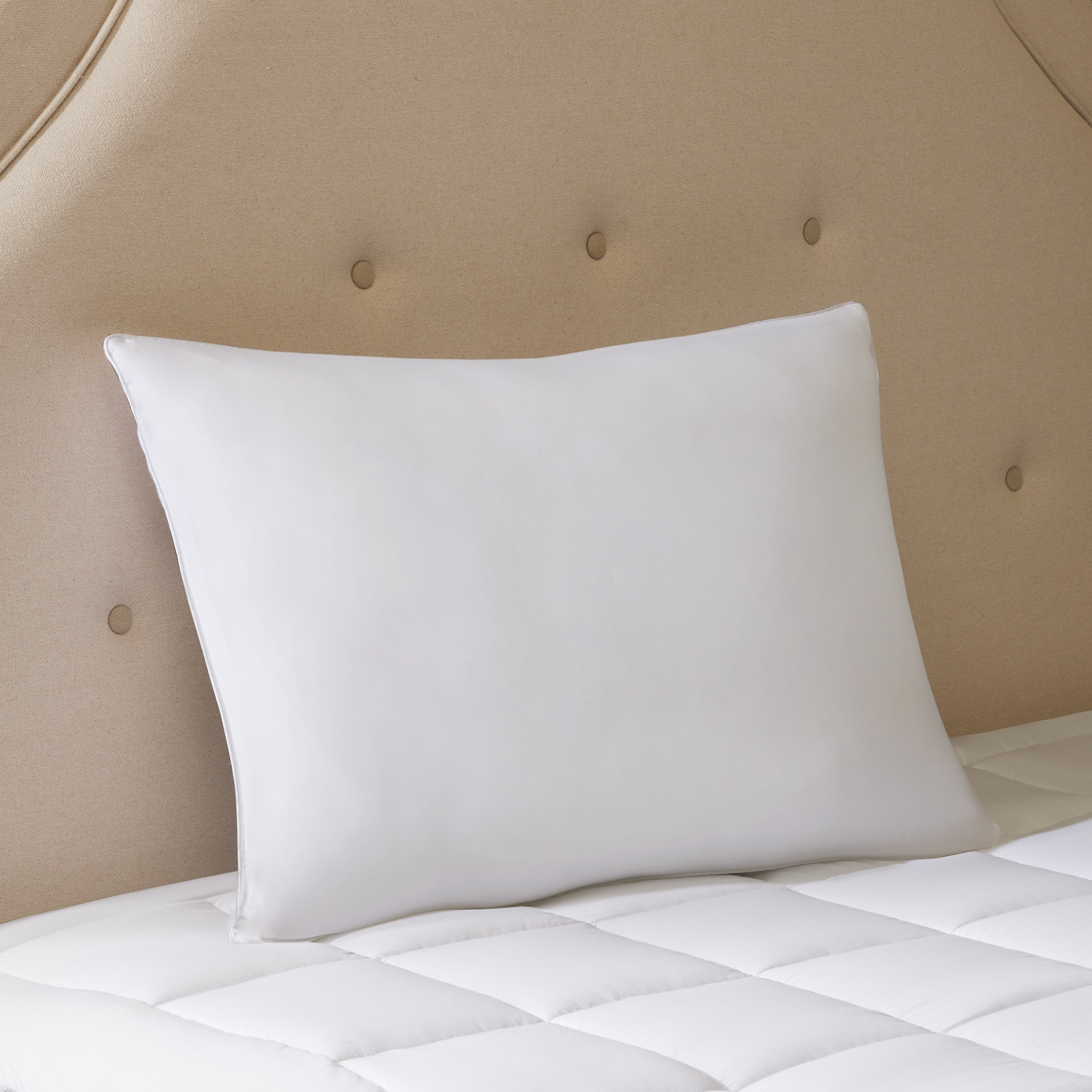 down lp bed products microfiber fiber fill pillow pillows alternative feather hypoallergenic