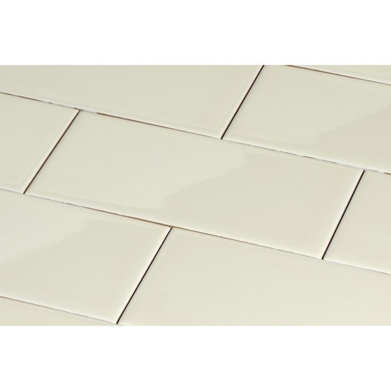 Shop Giorbello Beige Ceramic 3x6 Subway Tiles Case Of 145 Sq Ft