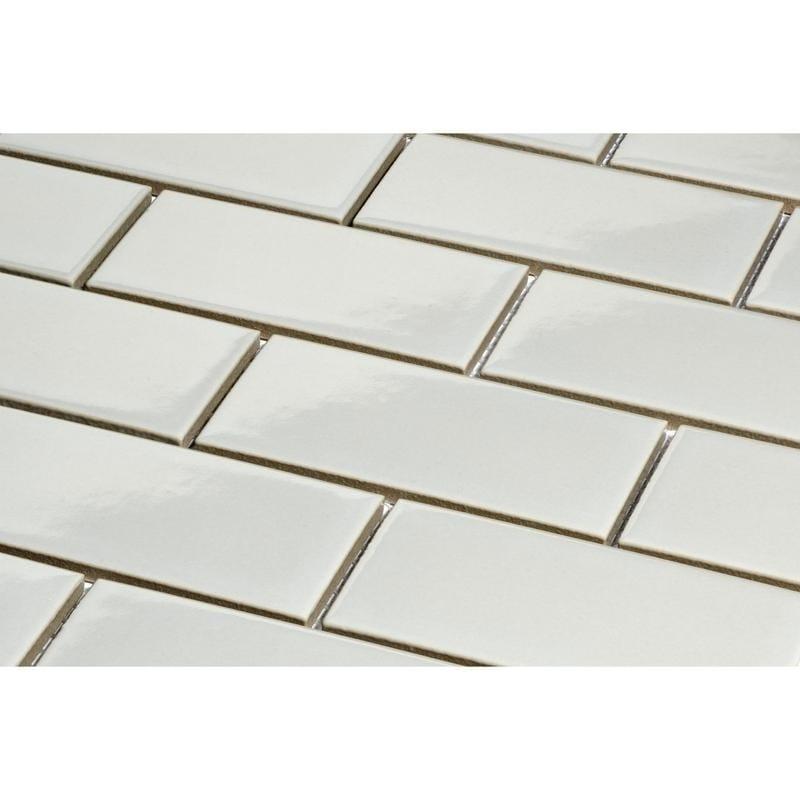 Shop Giorbello Light Grey Porcelain 2x4 Subway Tile 165 Sq Ft