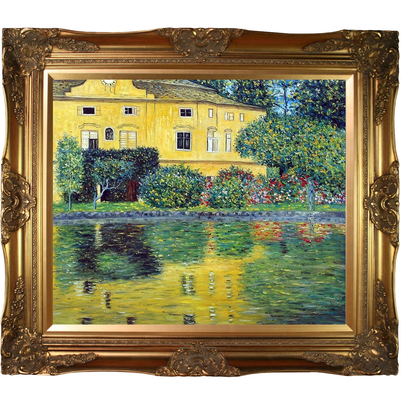 Shop Gustav Klimt \'Schloss Kammer on Attersee\' (Horizontal) Hand ...