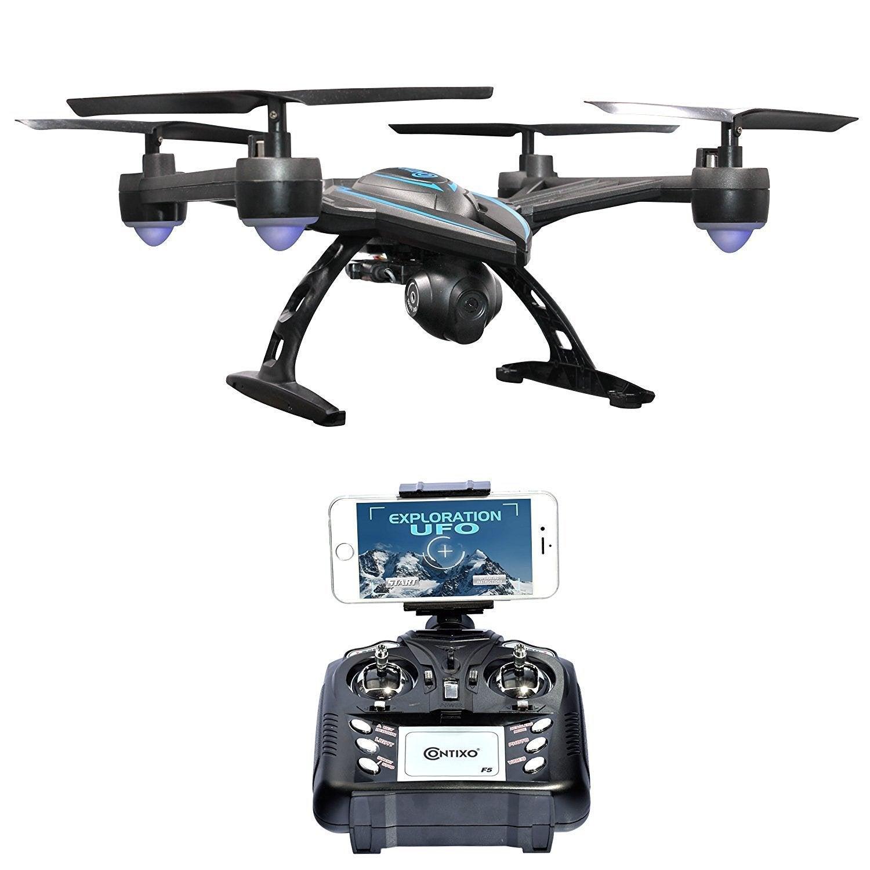 Shop Contixo F5 Wifi Fpv Quadcopter Drone With Hd Camera Free