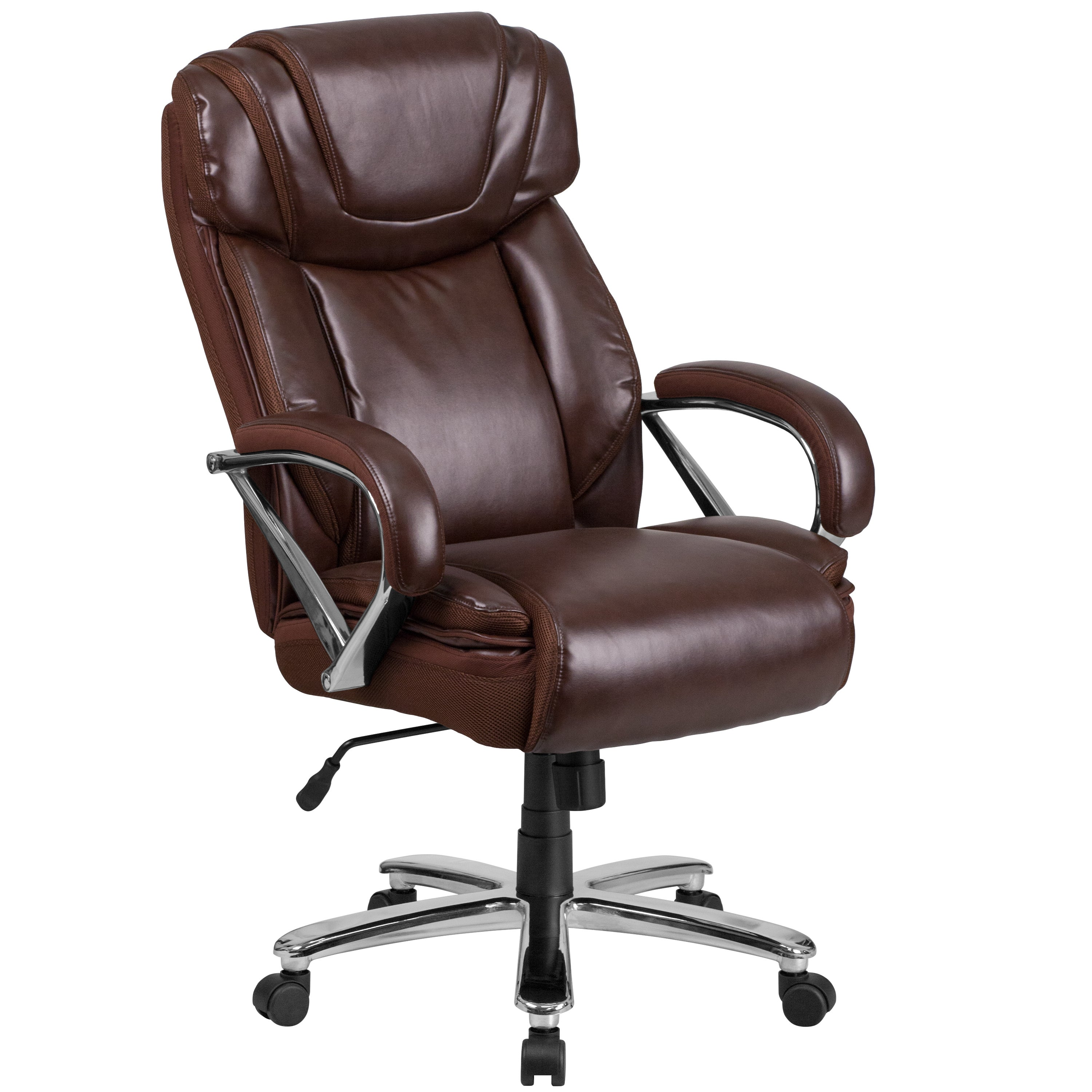 Hercules Series Tall Leather Executive Swivel Office Chair With Extra Wide Seat Free Shipping Today 20809890