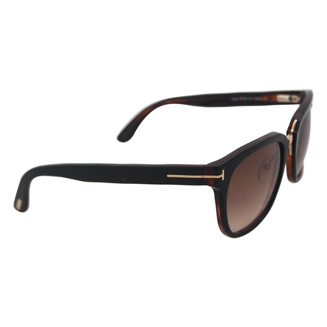 5fab04aa34 Shop Tom Ford Unisex s FT0290 Rock 01F - Black Sunglasses - Free Shipping  Today - Overstock - 14220318