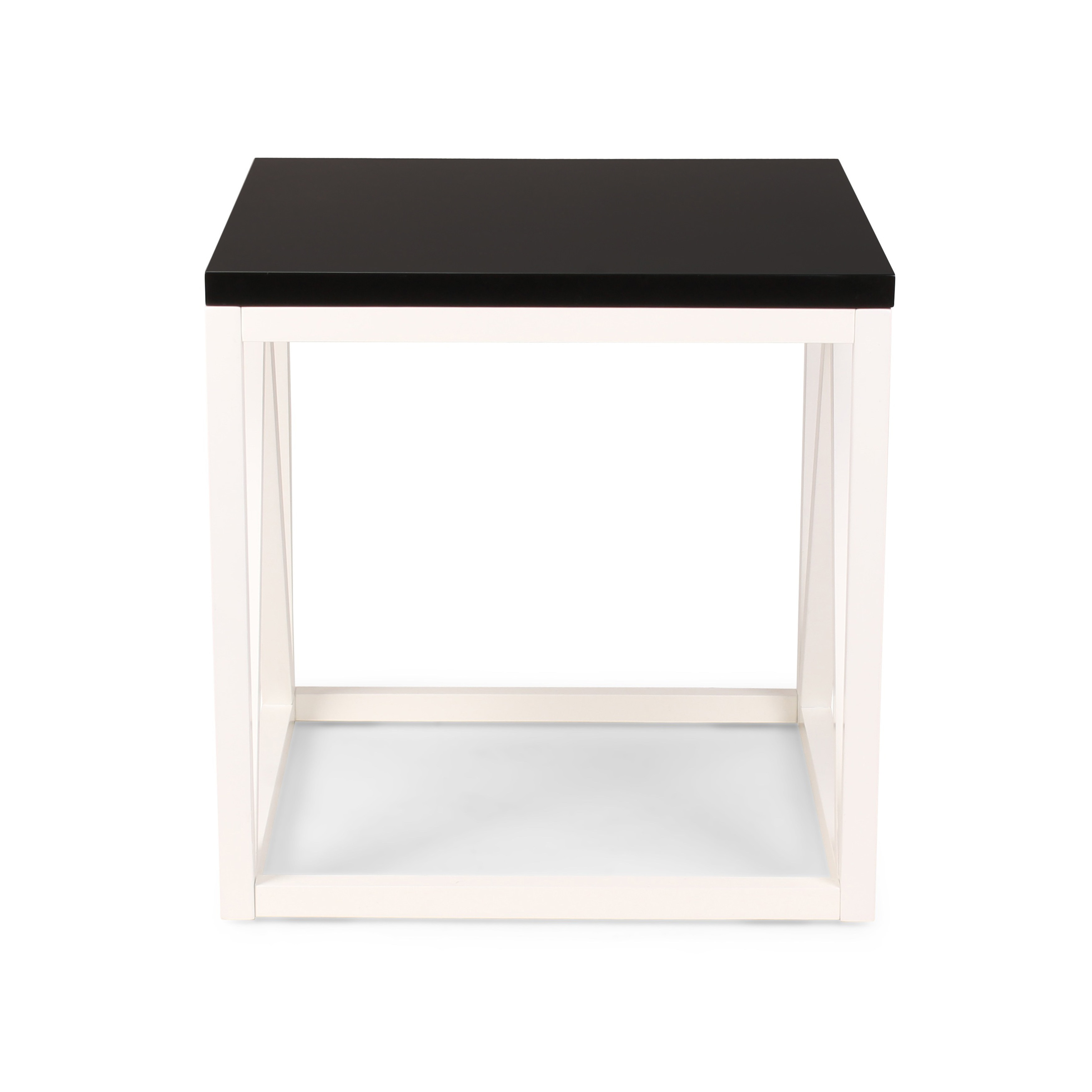 Oliver James Kinji Wood Cube Side Table On Free Shipping Today 14220393
