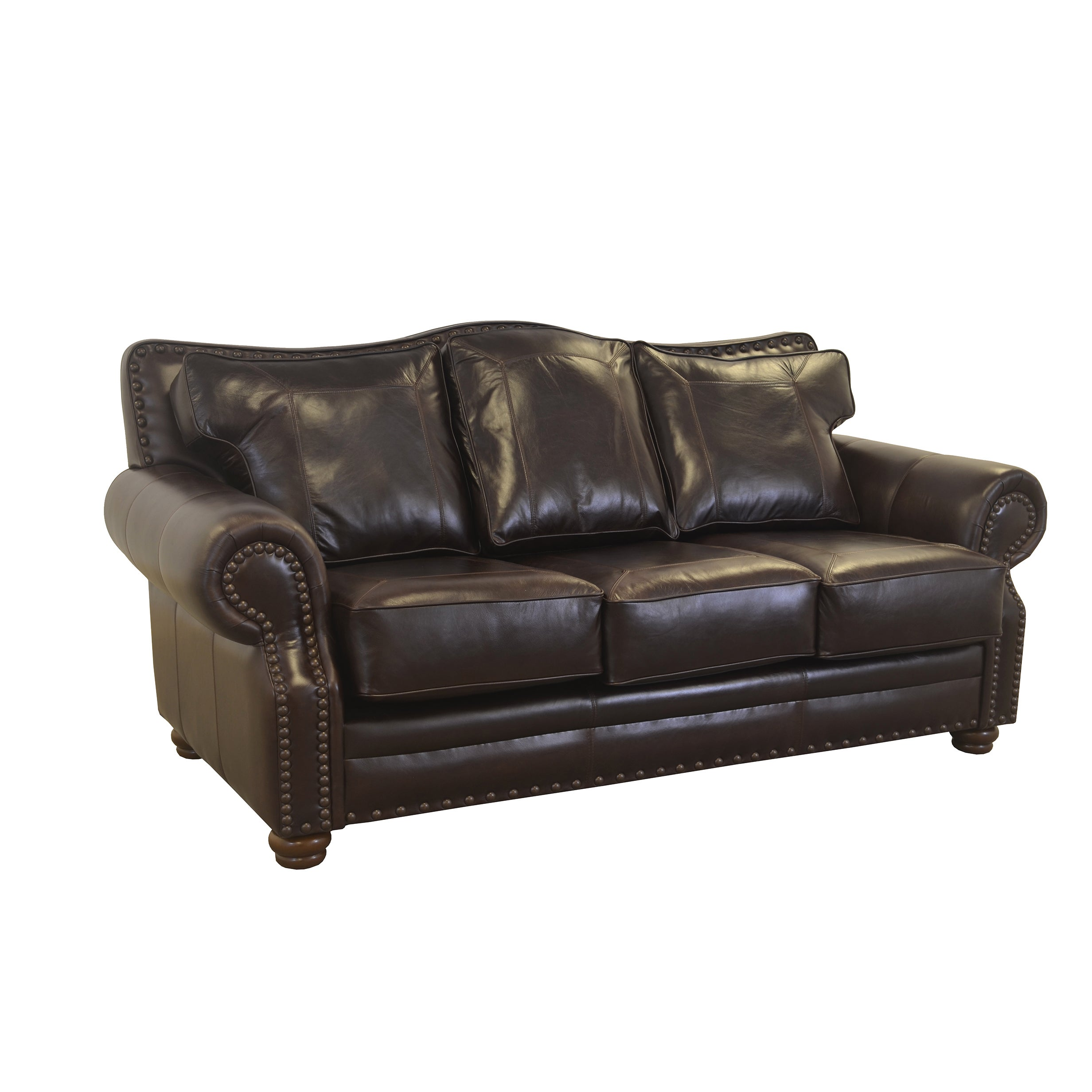 Shop Made To Order Westford Genuine Top Grain Leather Nailhead