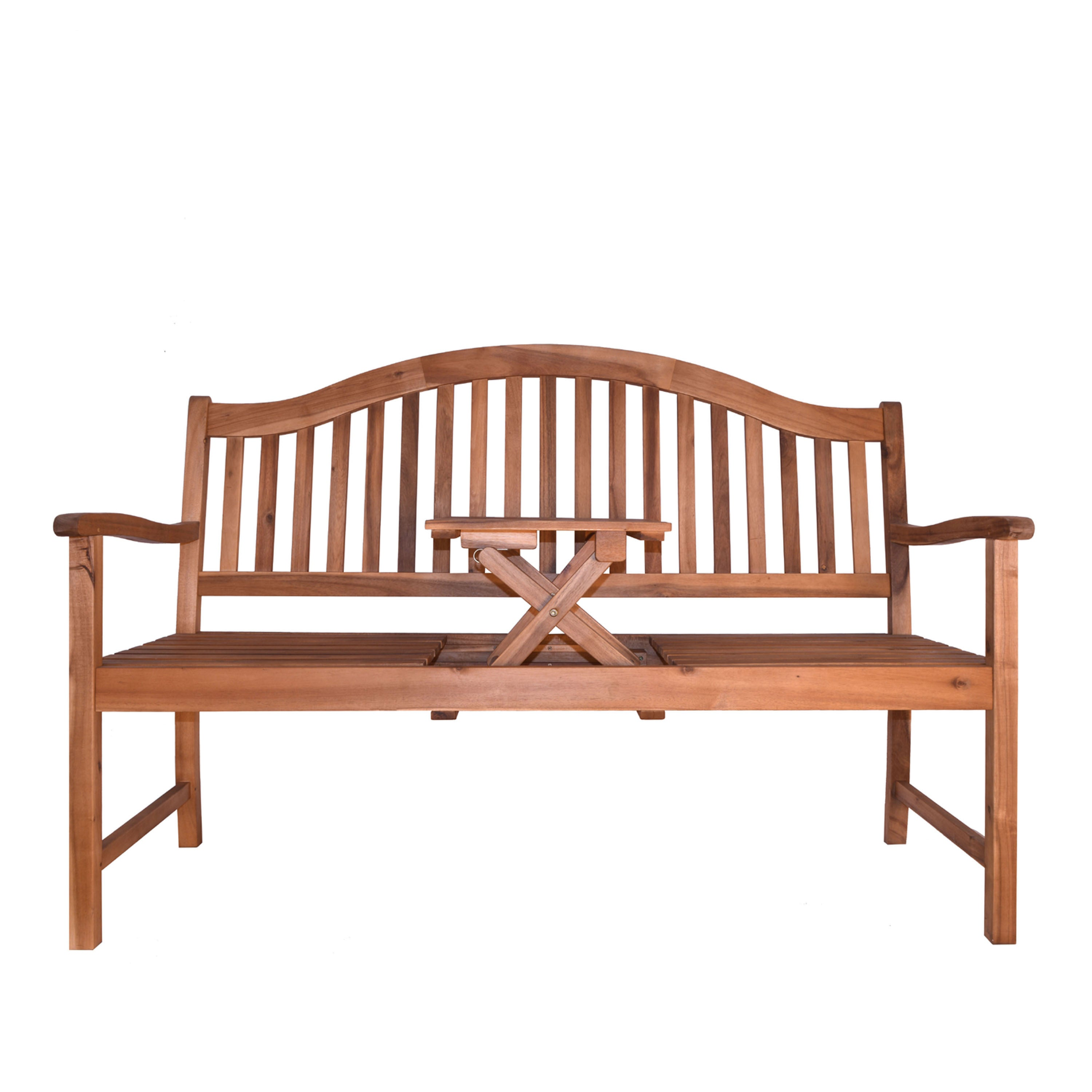 garden best rustic for rakuten wheel wagon product wooden bestchoiceproducts choice shop patio products outdoor bench brown