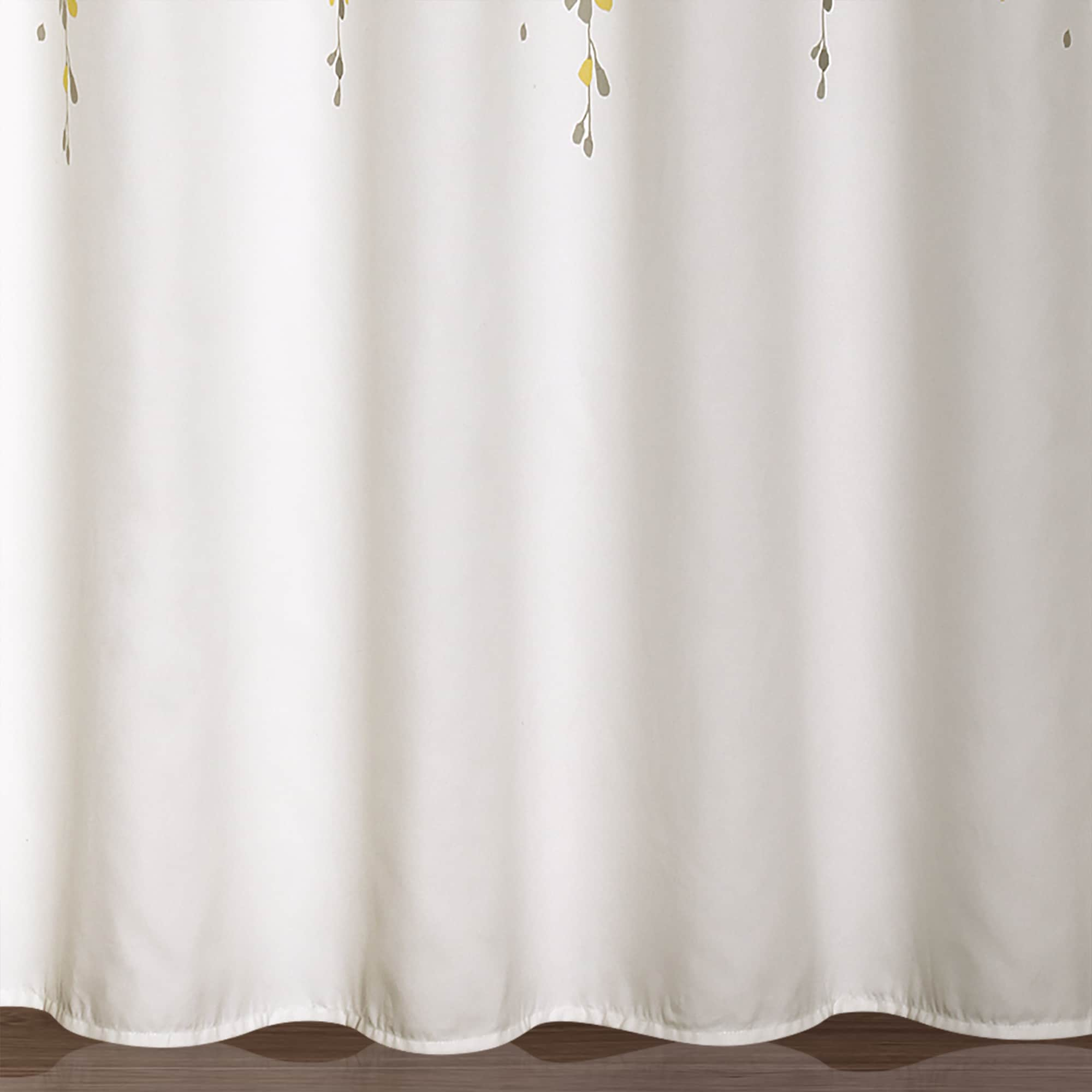 Shop Lush Decor Weeping Flower Shower Curtain