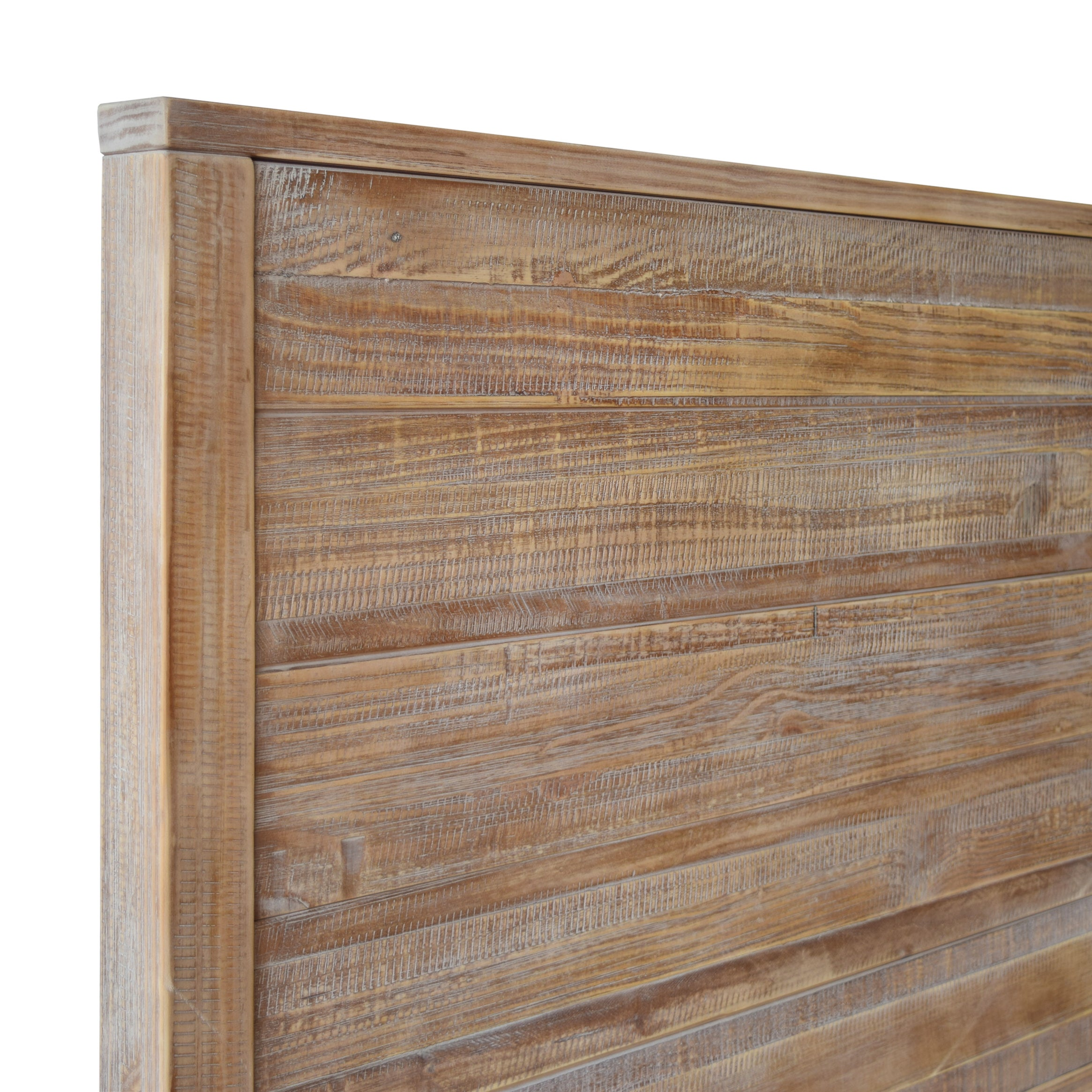 Shop Grain Wood Furniture Montauk King Solid Wood Panel Bed   Free Shipping  Today   Overstock.com   14229209