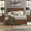 Grain Wood Furniture Montauk King Solid Wood Panel Bed