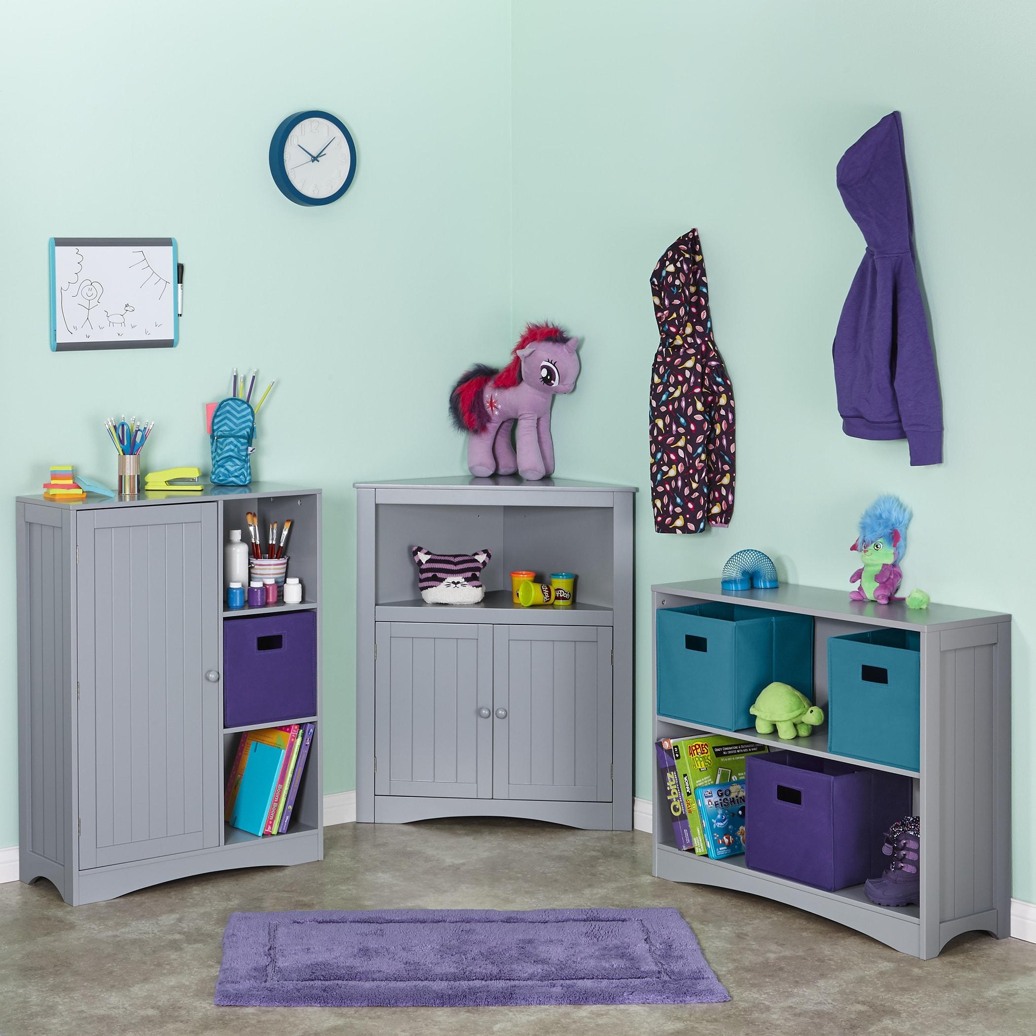 RiverRidge® Kids 2-Door Corner Cabinet - Free Shipping Today ...