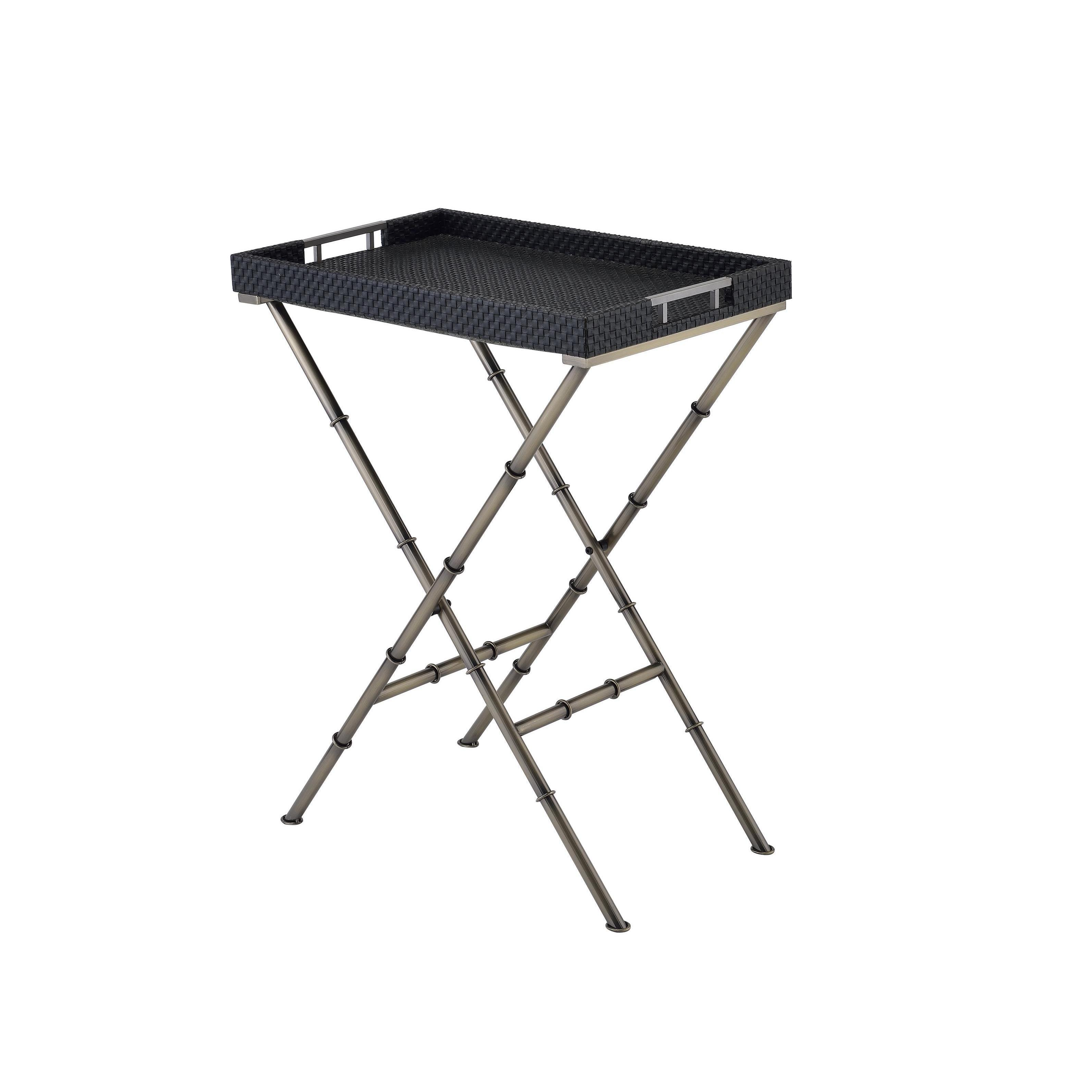 Acme Furniture Lajos Folding Tray Table Free Shipping Today